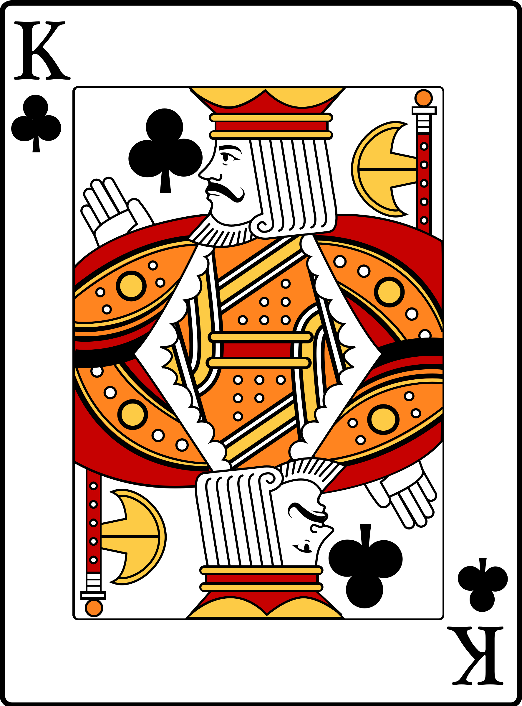 King of Clubs by casino