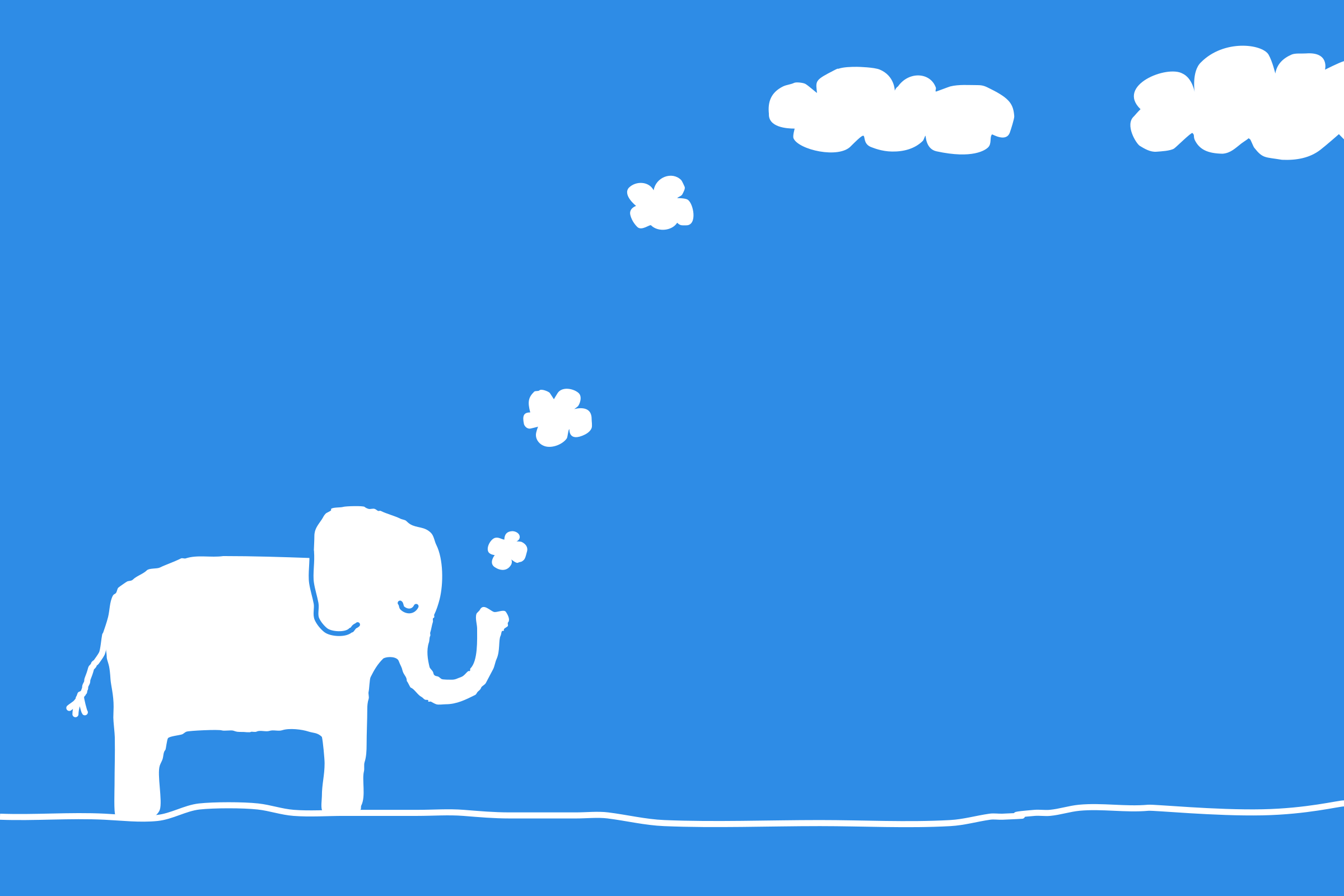 Elephant cloud by raphaelb