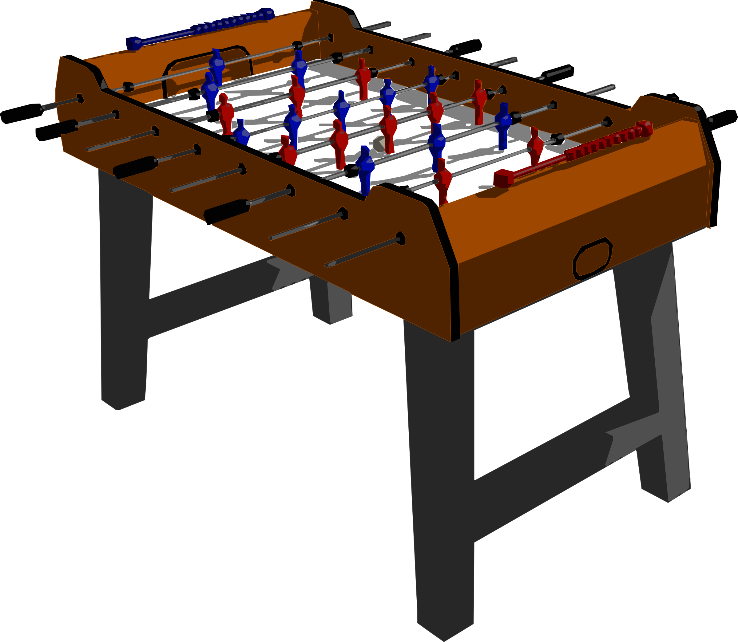 Amazing Foosball Table