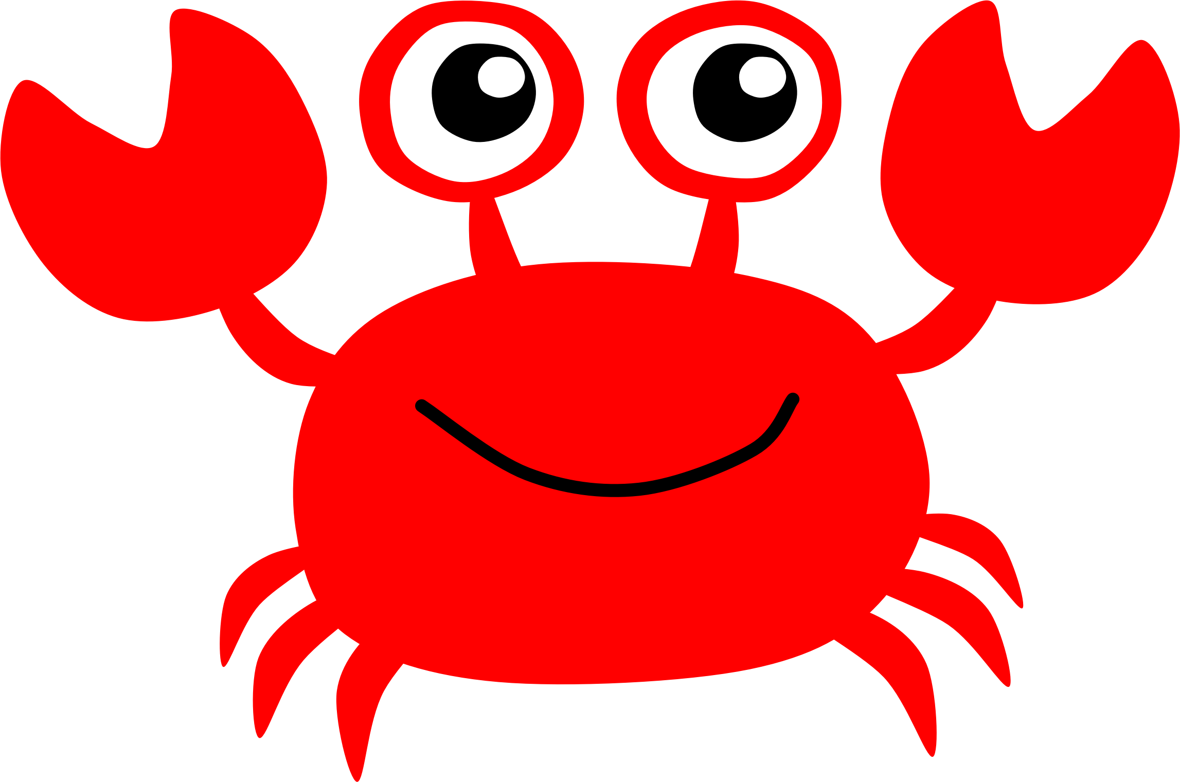 Red Crab by Scout