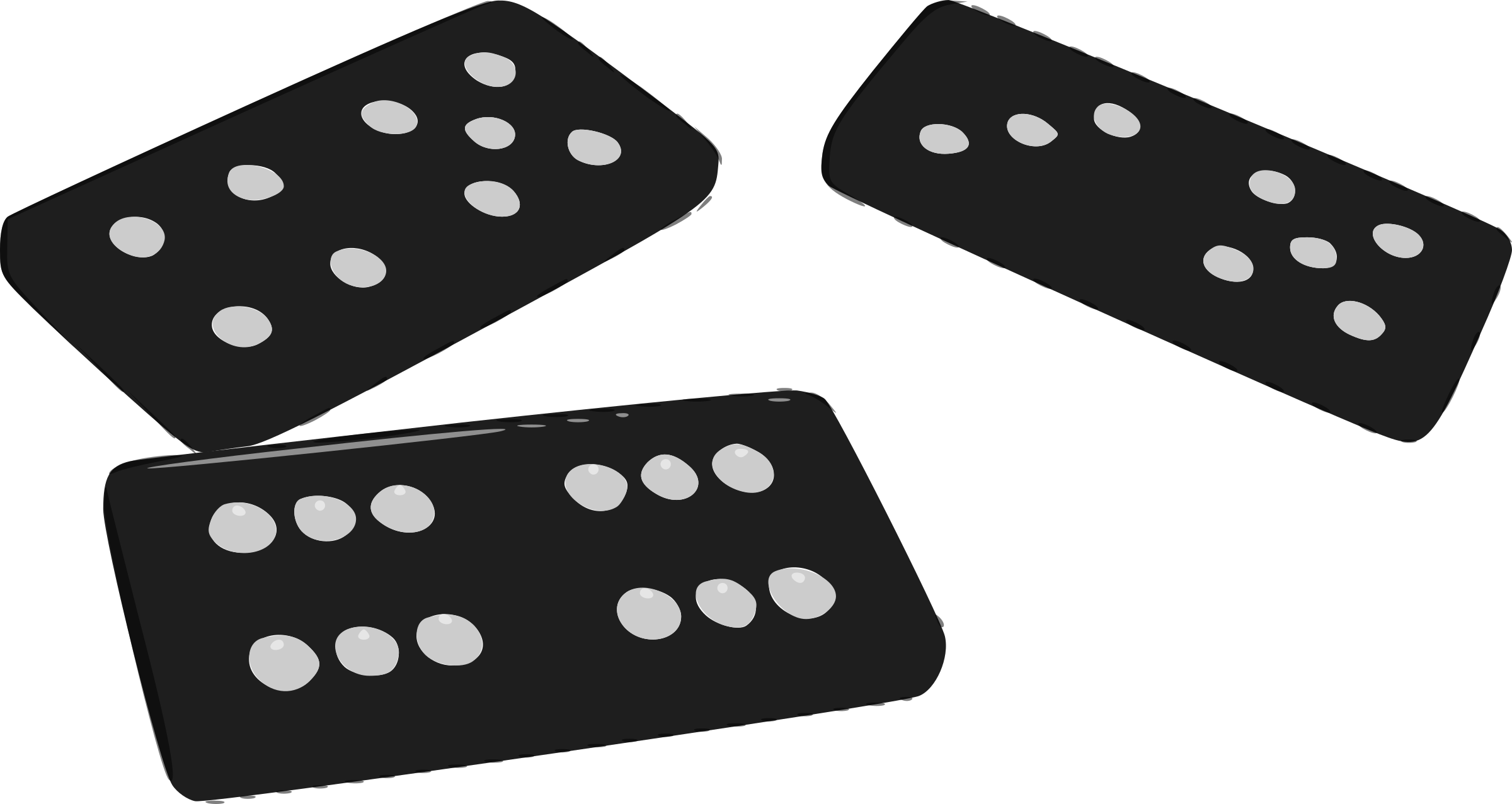 Dominoes by mazeo