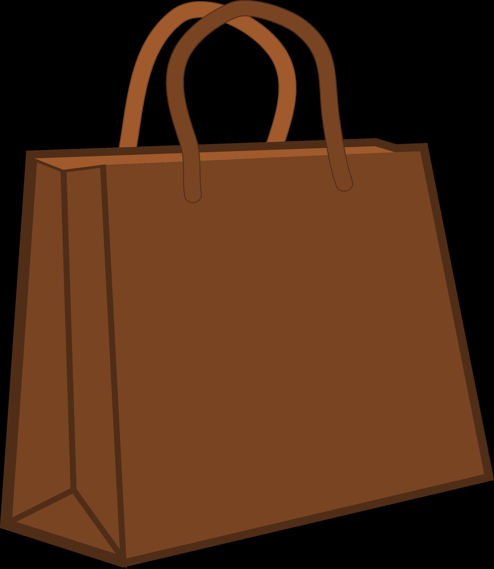 clipart paper shopping bag