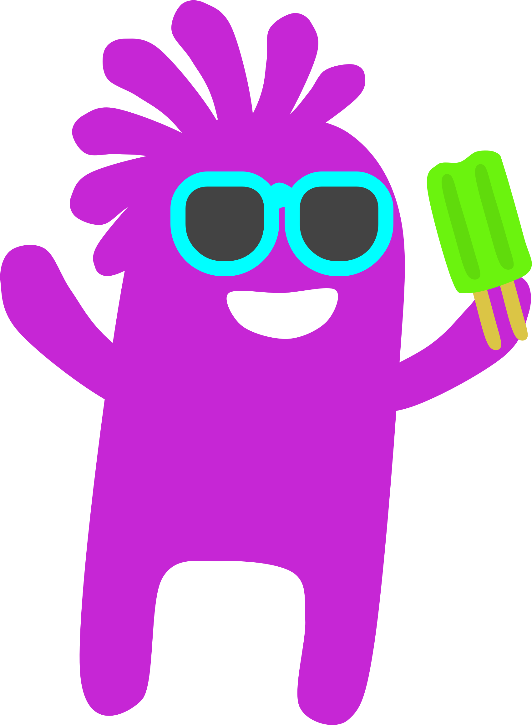 Popsicle Monster by Scout