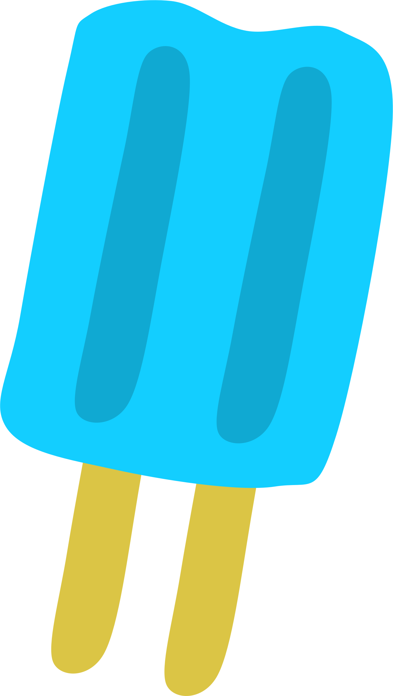 Blue Popsicle by Scout