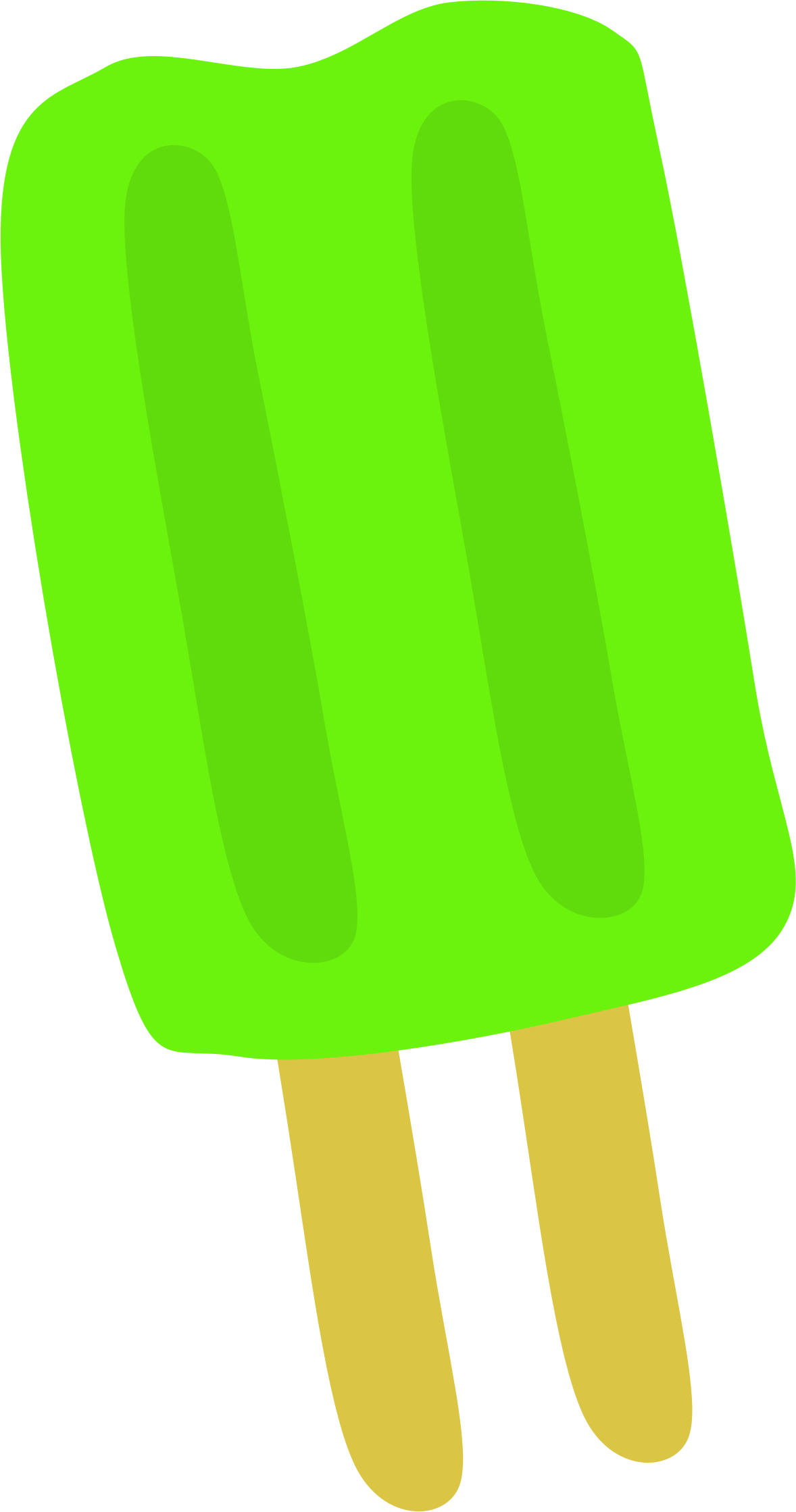 Green Popsicle by Scout