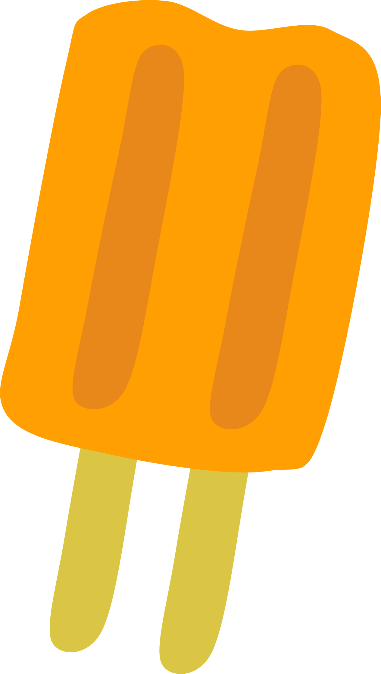 Orange Popsicle by Scout