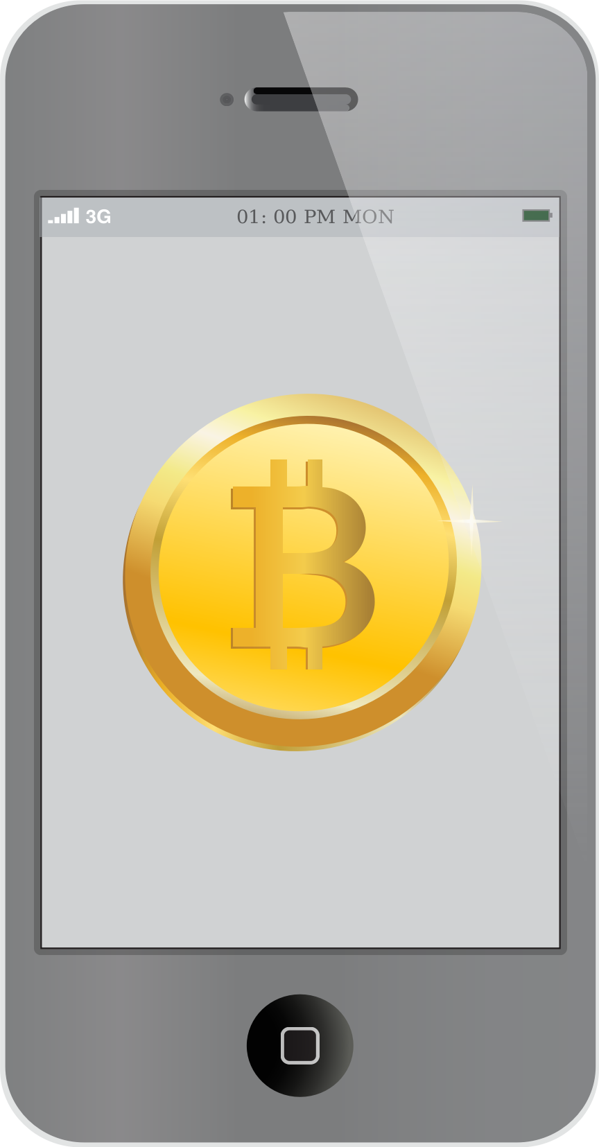 Bitcoin inside iPhone by casino