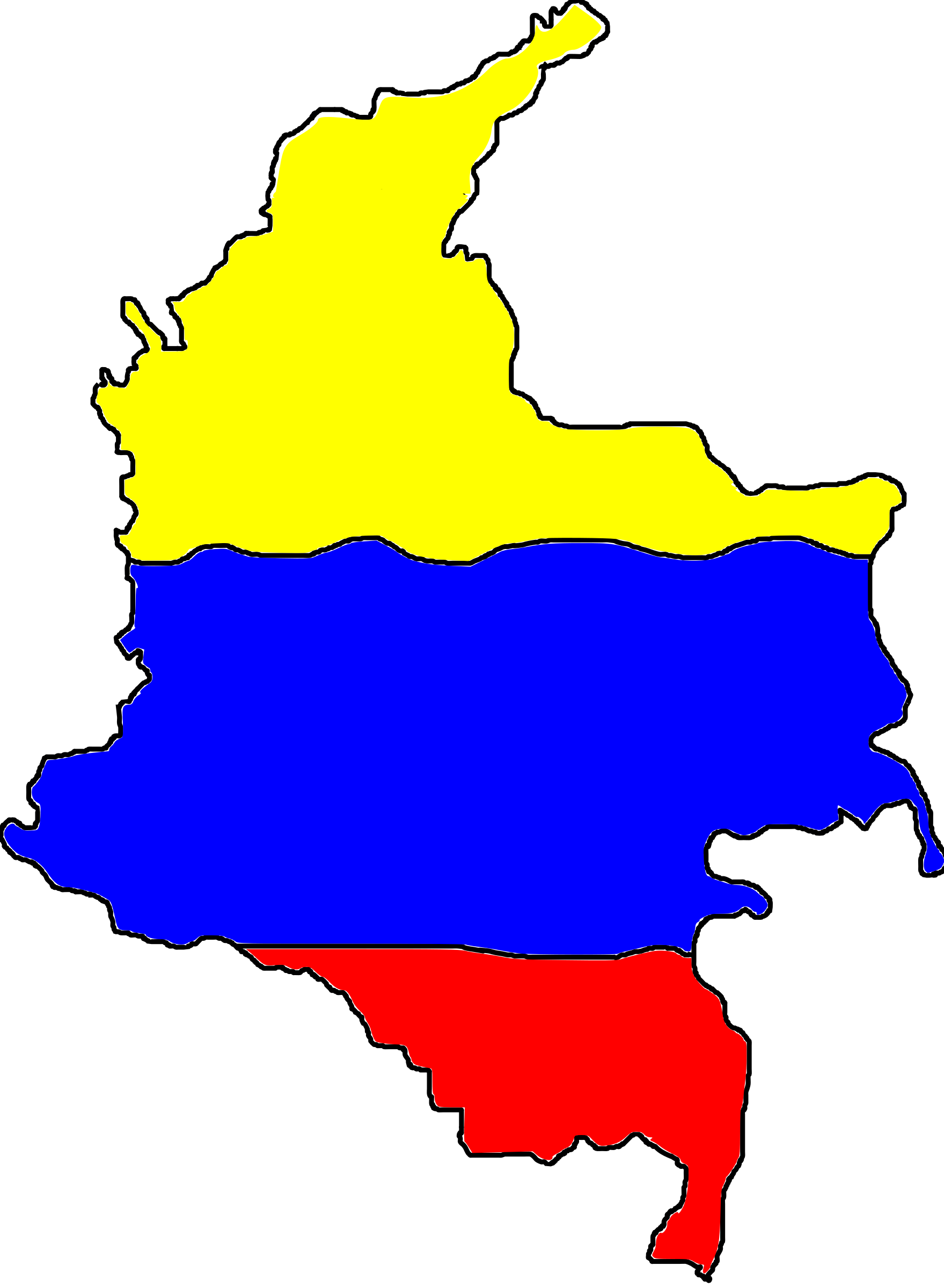 mapa-colombia by abcxd97