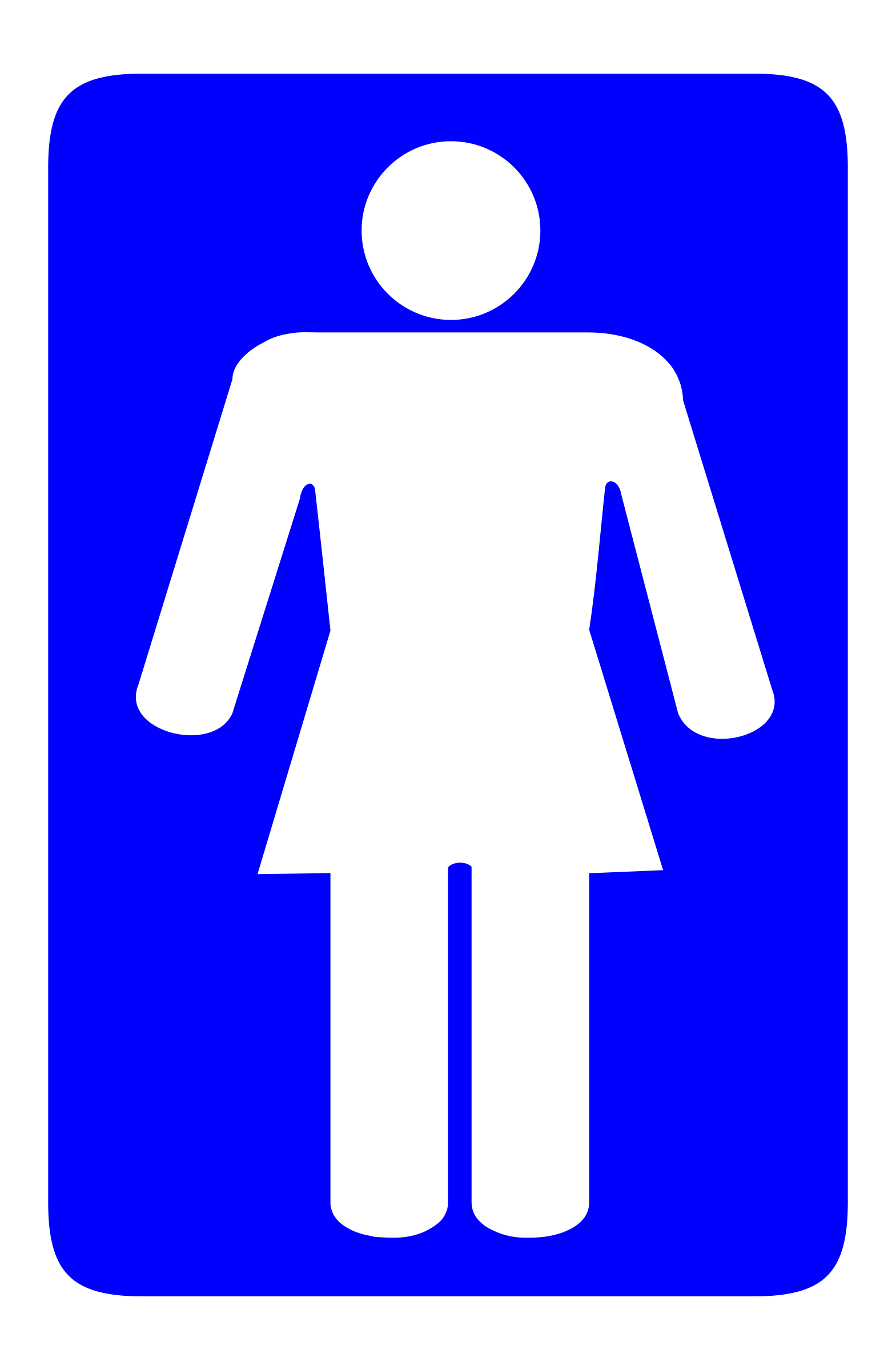 Toilet Sign Other by worker