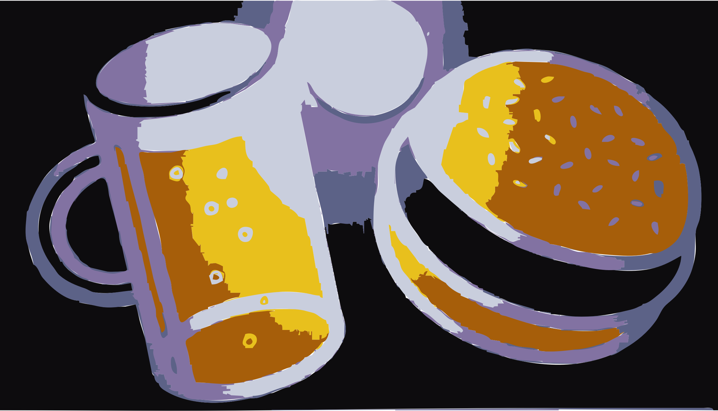 REQUEST: Beer and Hamburger by wanglizhong