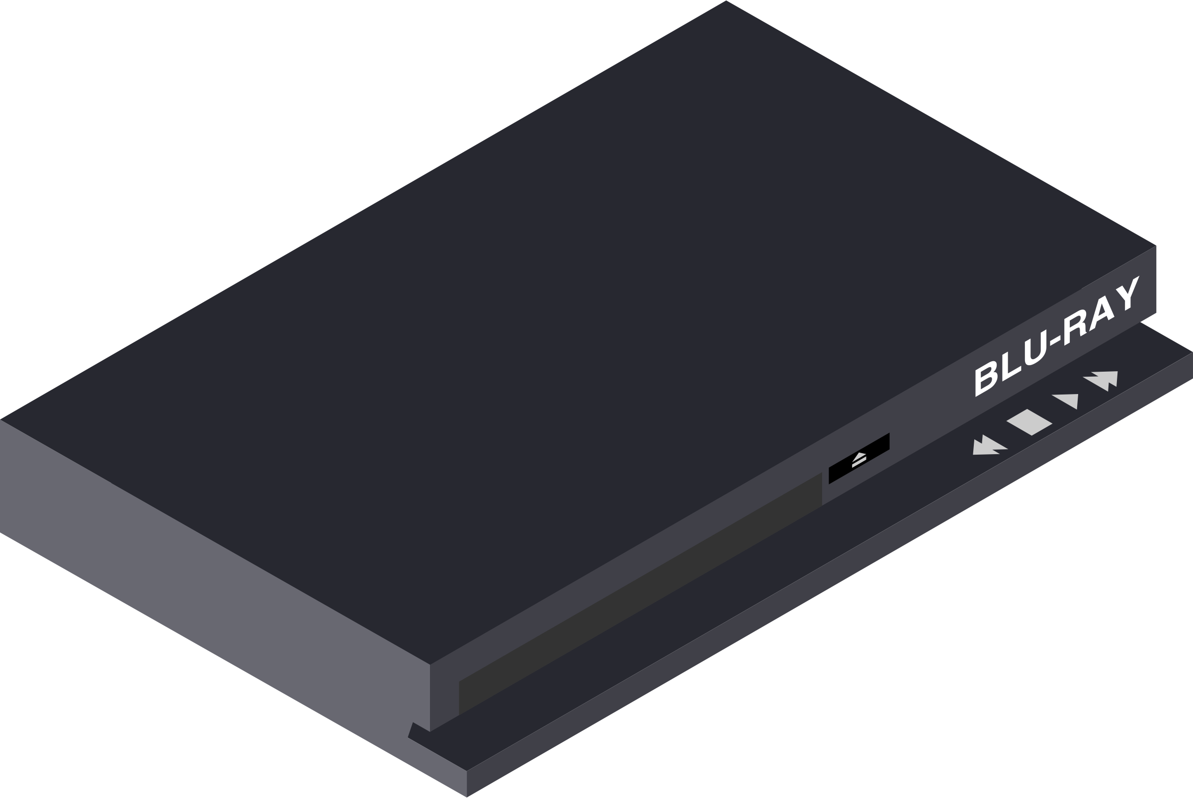 Blue Ray Player by Enriq766