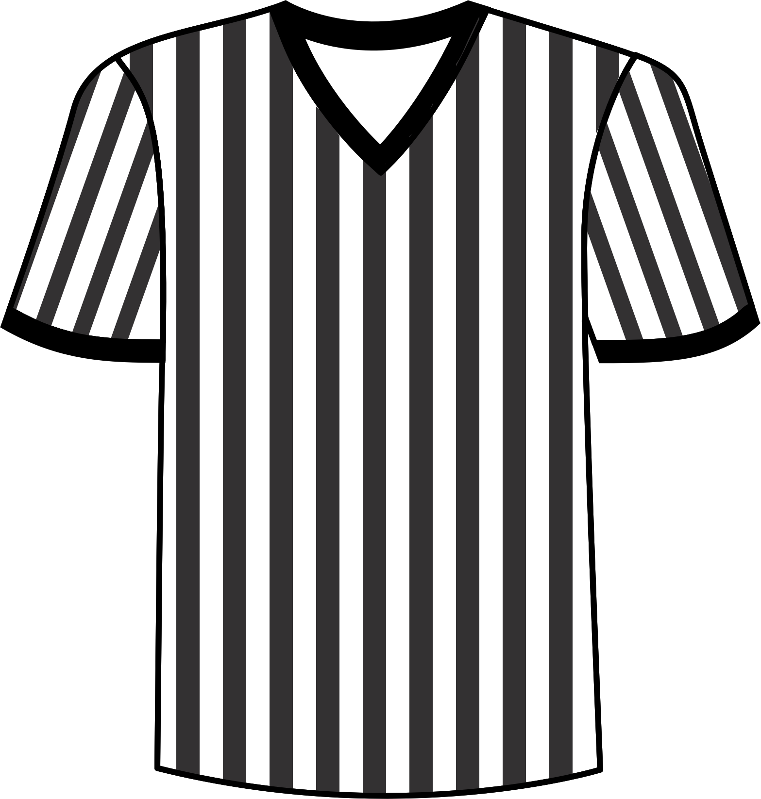 Football Shirt Clipart Football Referee Shirt