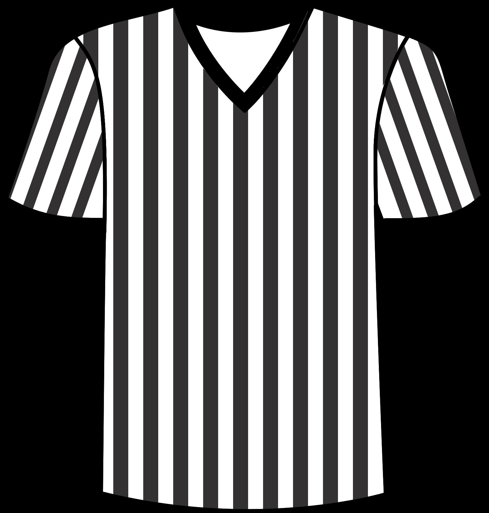Clipart - Football Referee Shirt