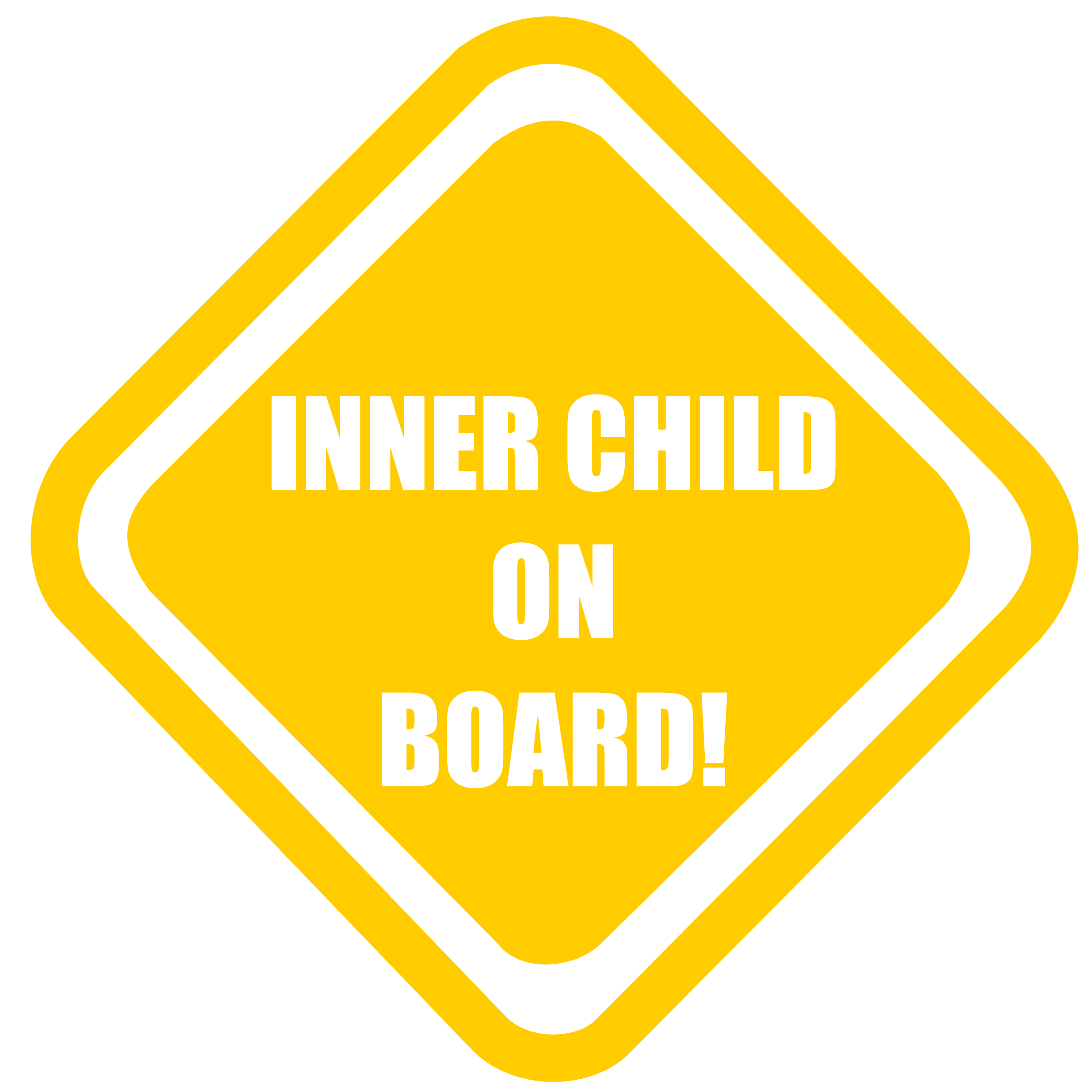 Inner Child Onboard by Bonzo