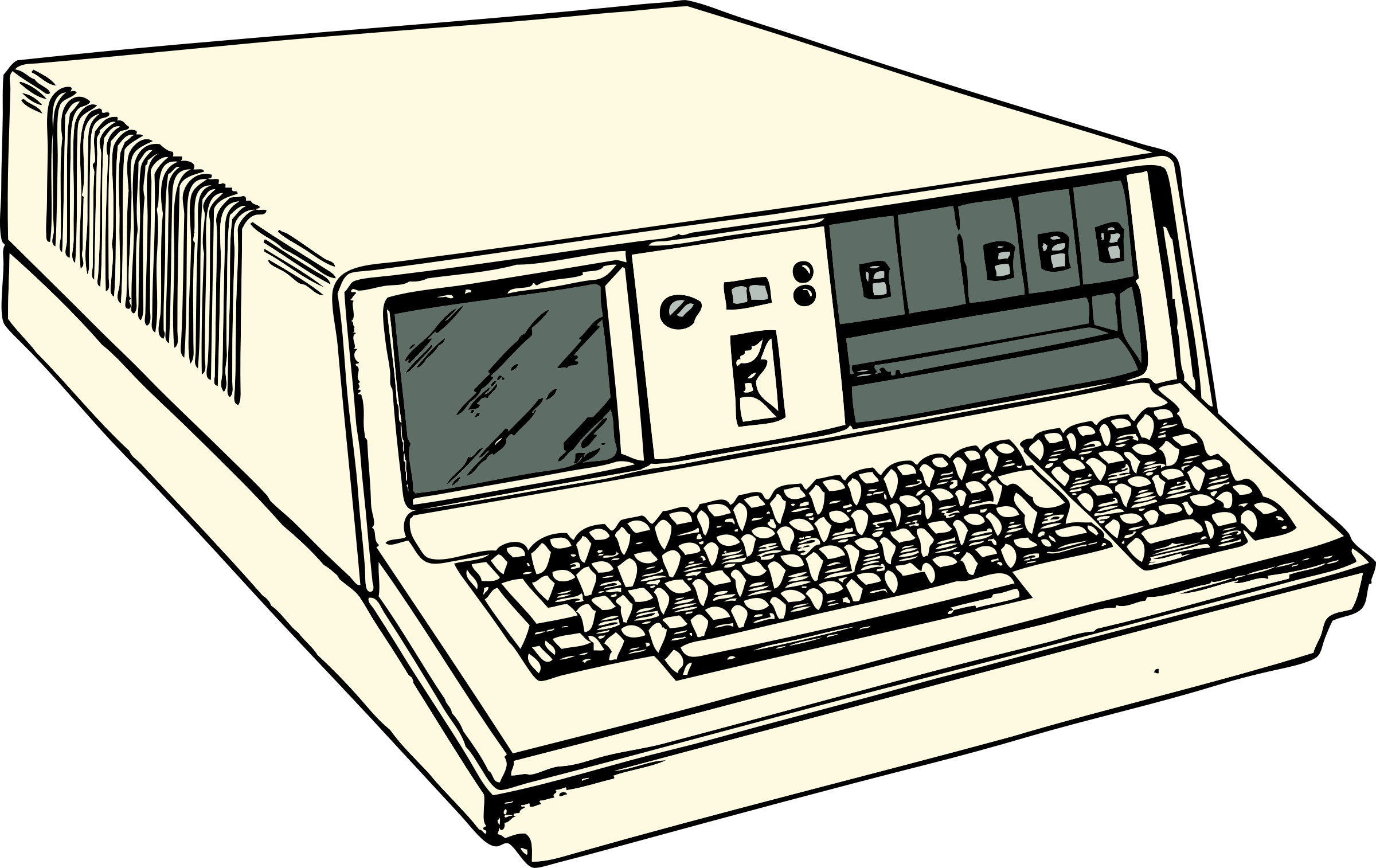 70s era portable computer by johnny_automatic