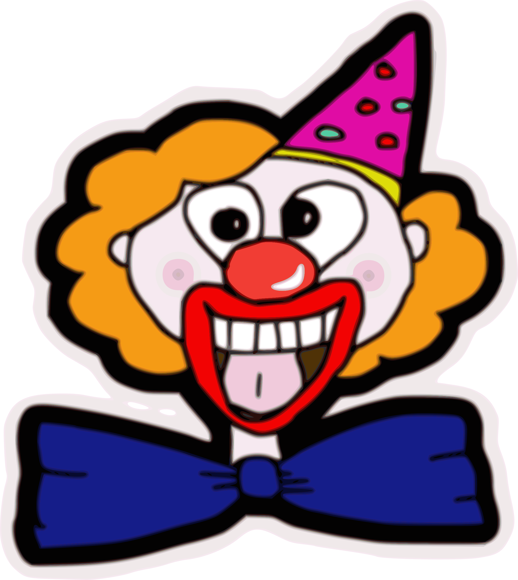 Clown Face by ksly4ever