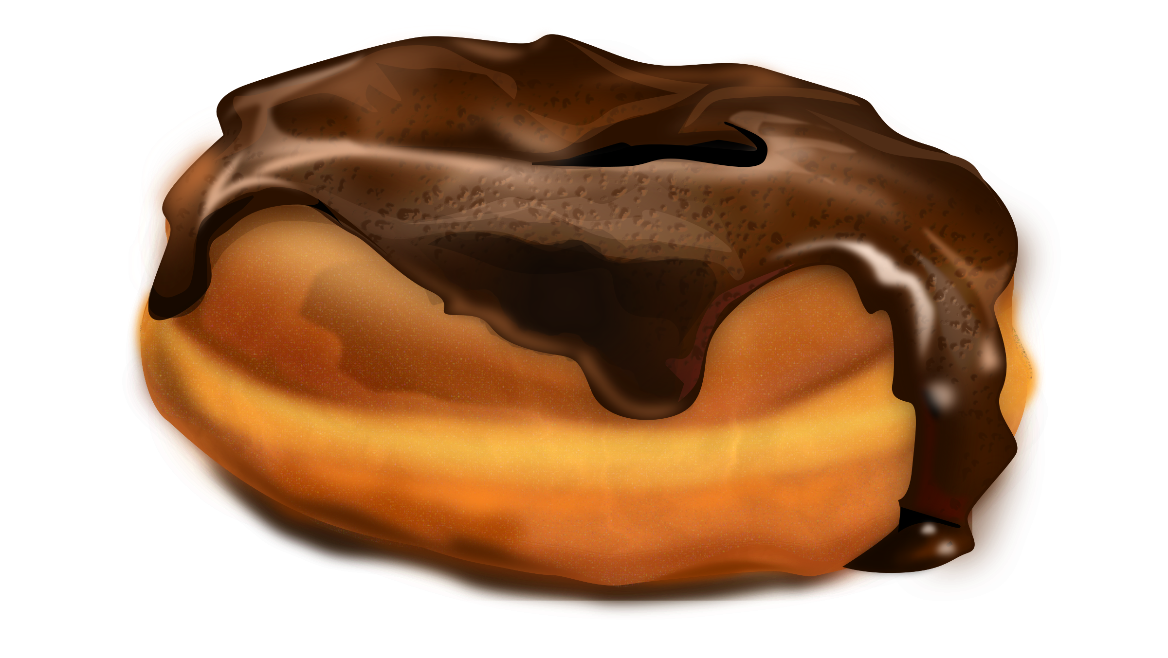 Chocolate Donut by rayscaperesource