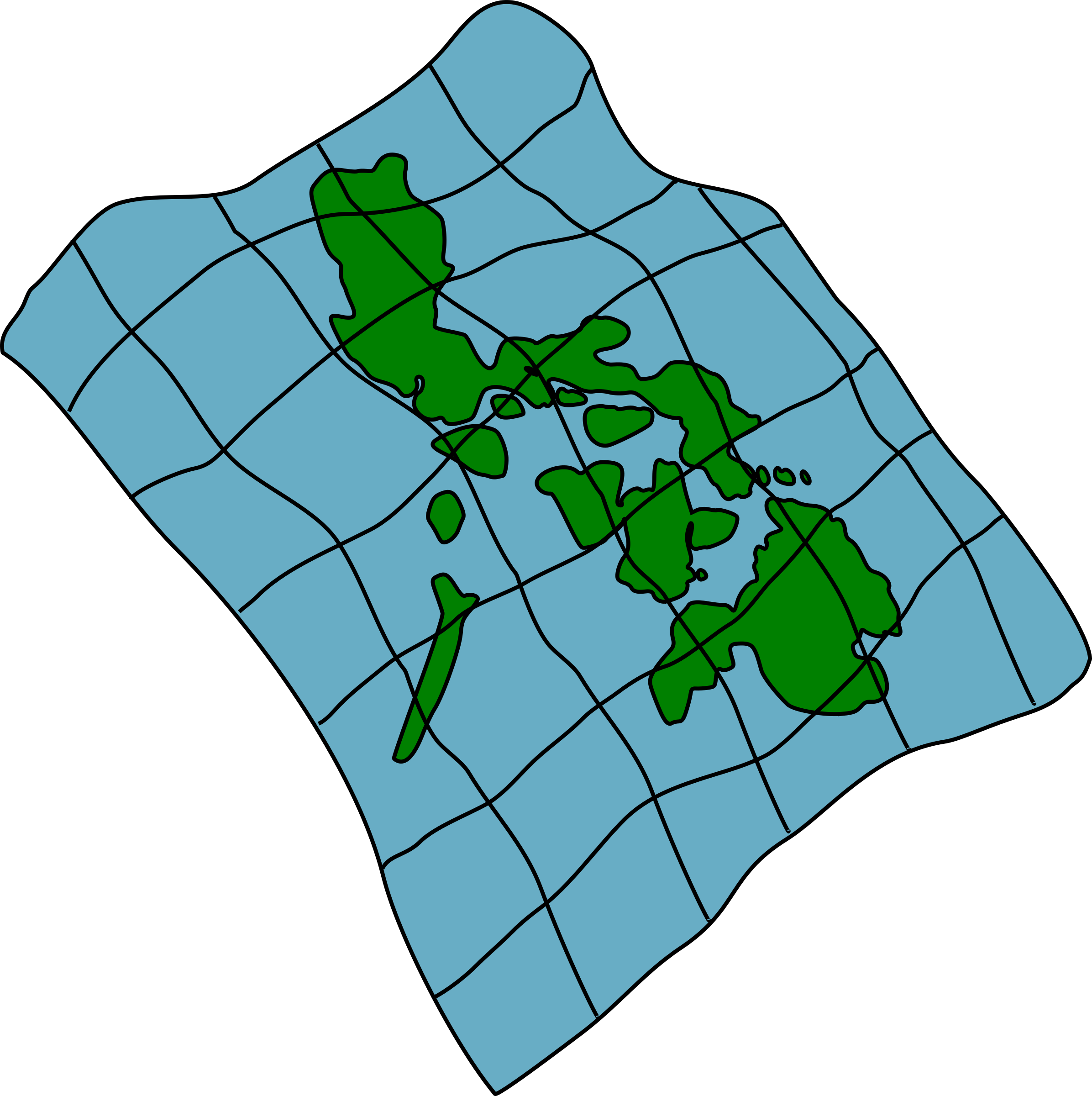 Map of the Philippines by dear_theophilus
