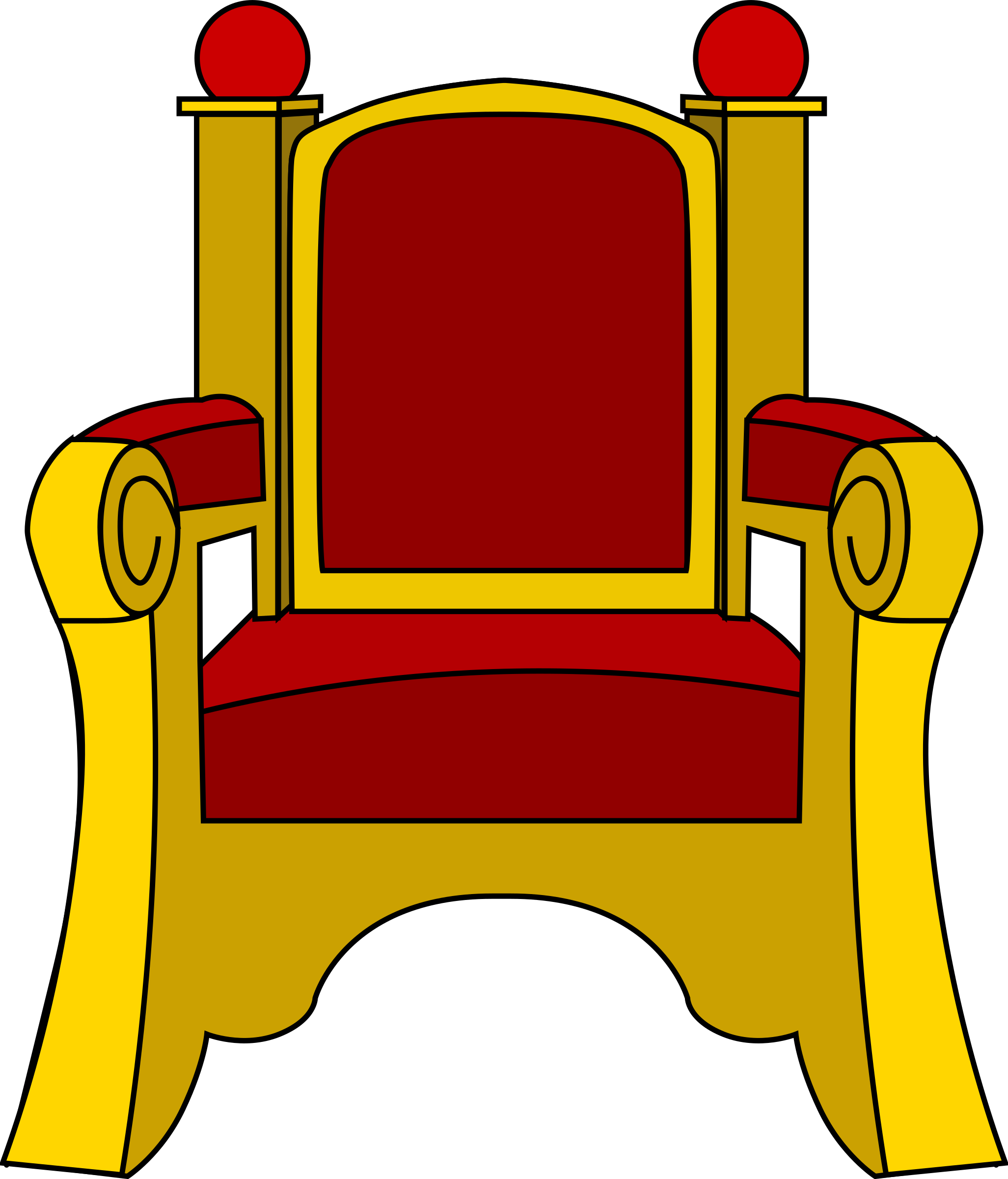 Kings Throne Drawing King on Throne Clip Art