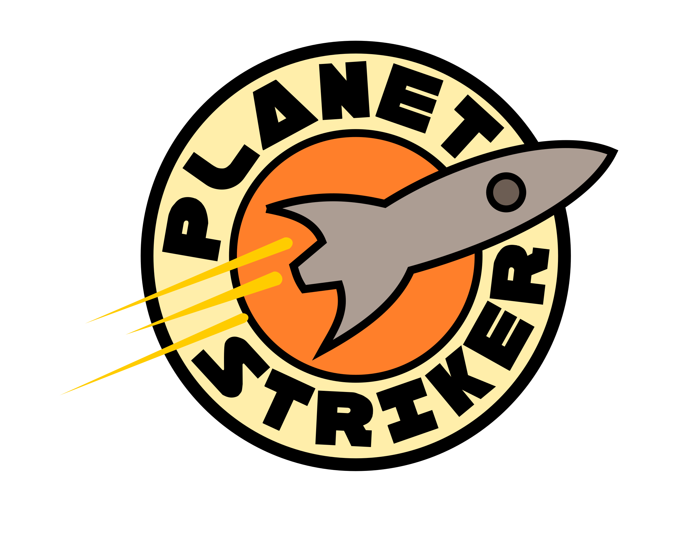 Planet Striker Logo by marauder