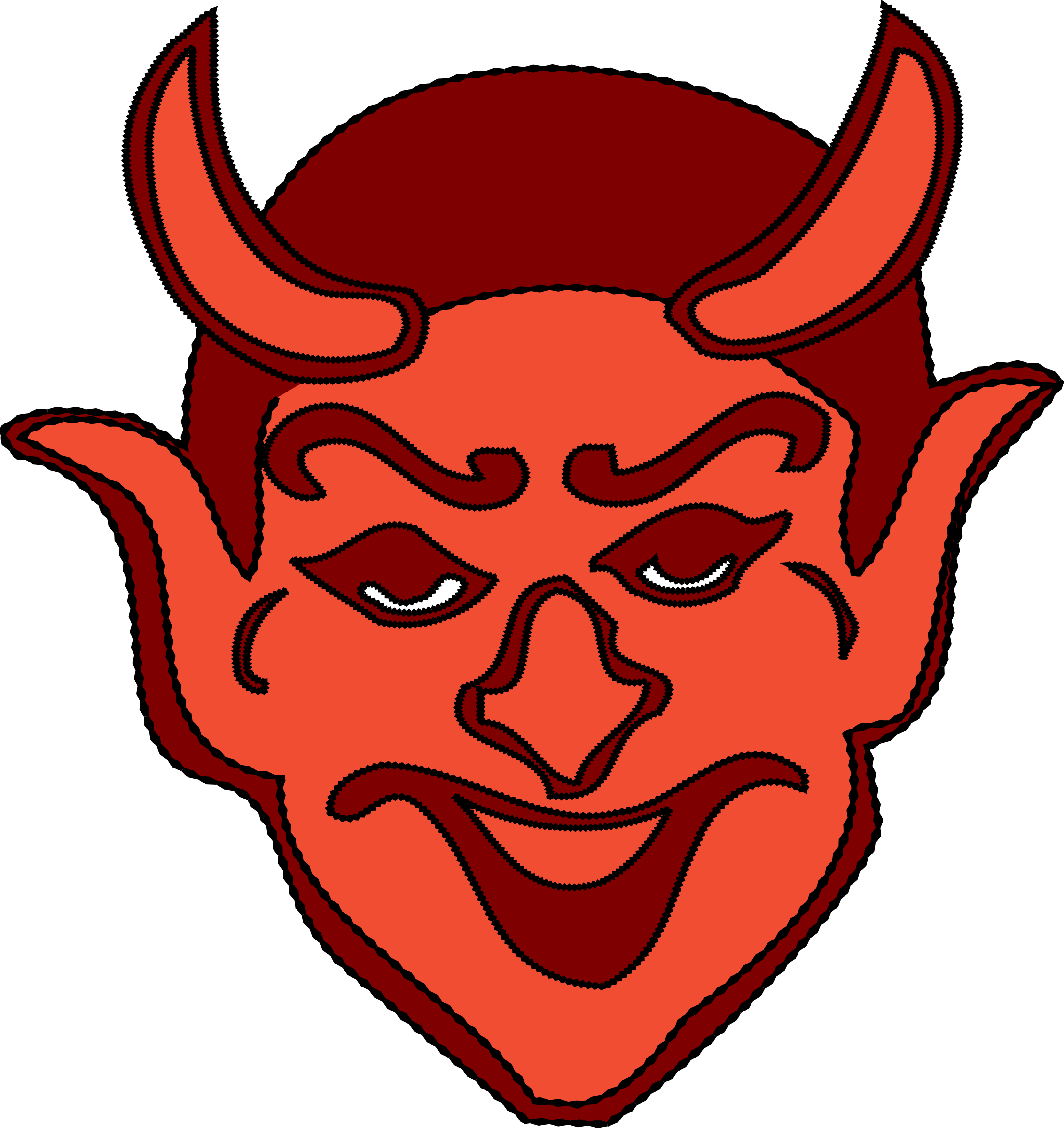 Devil Head by j4p4n