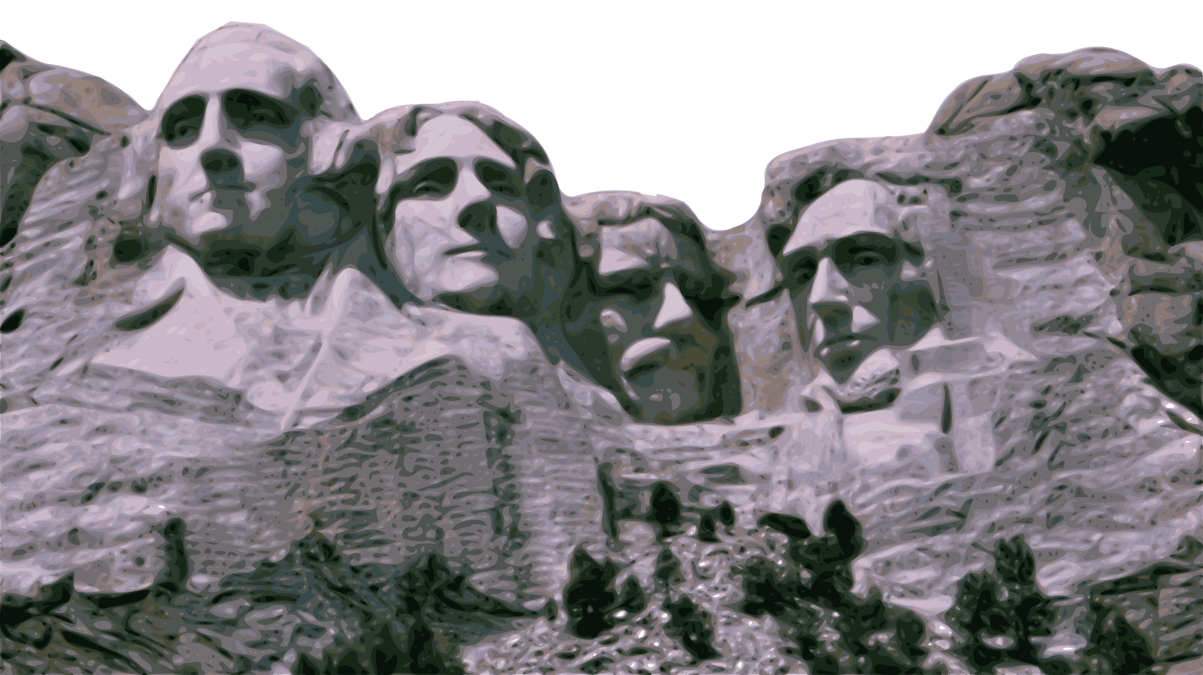 Mount Rushmore by gubrww2