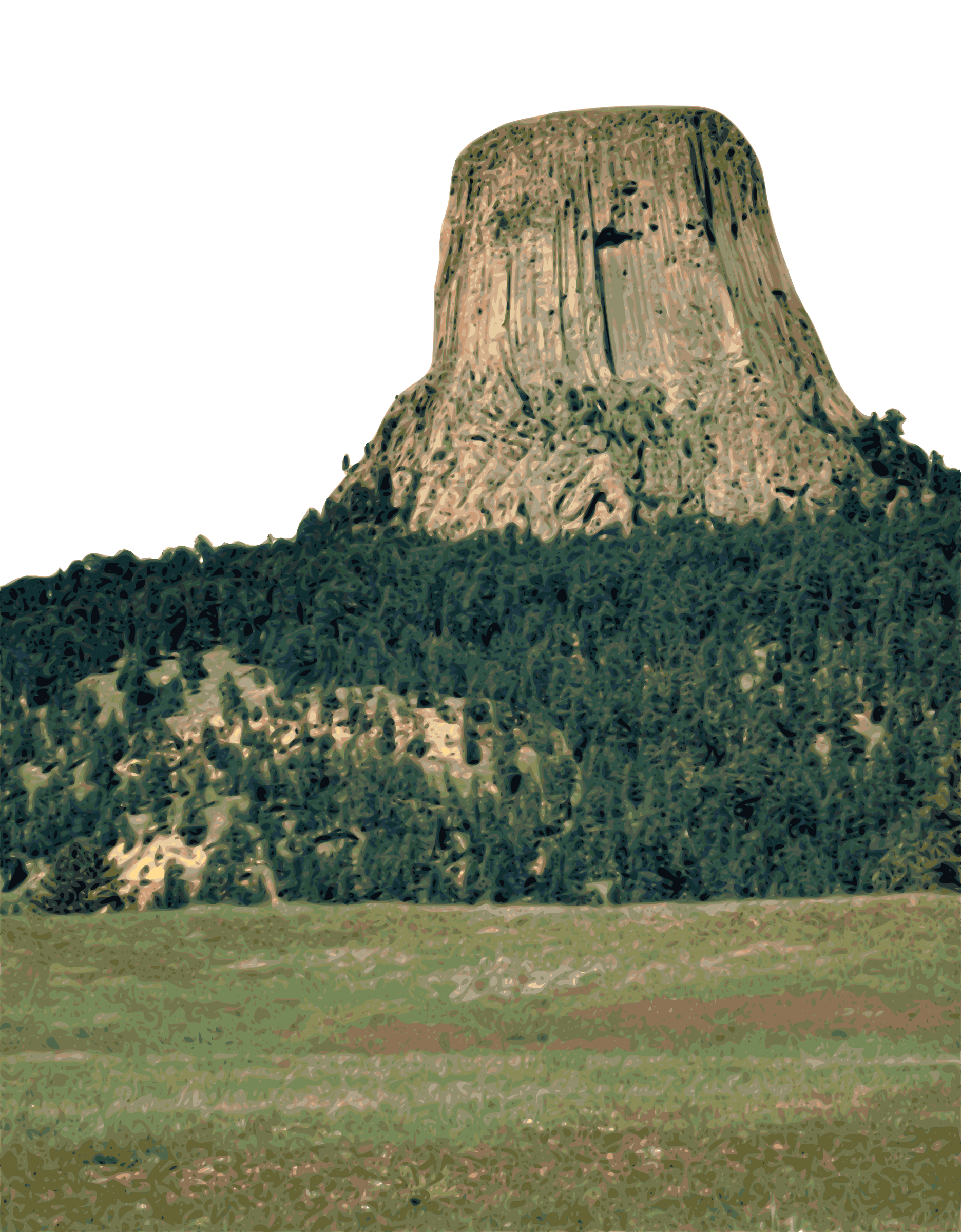 Devil's Tower by gubrww2