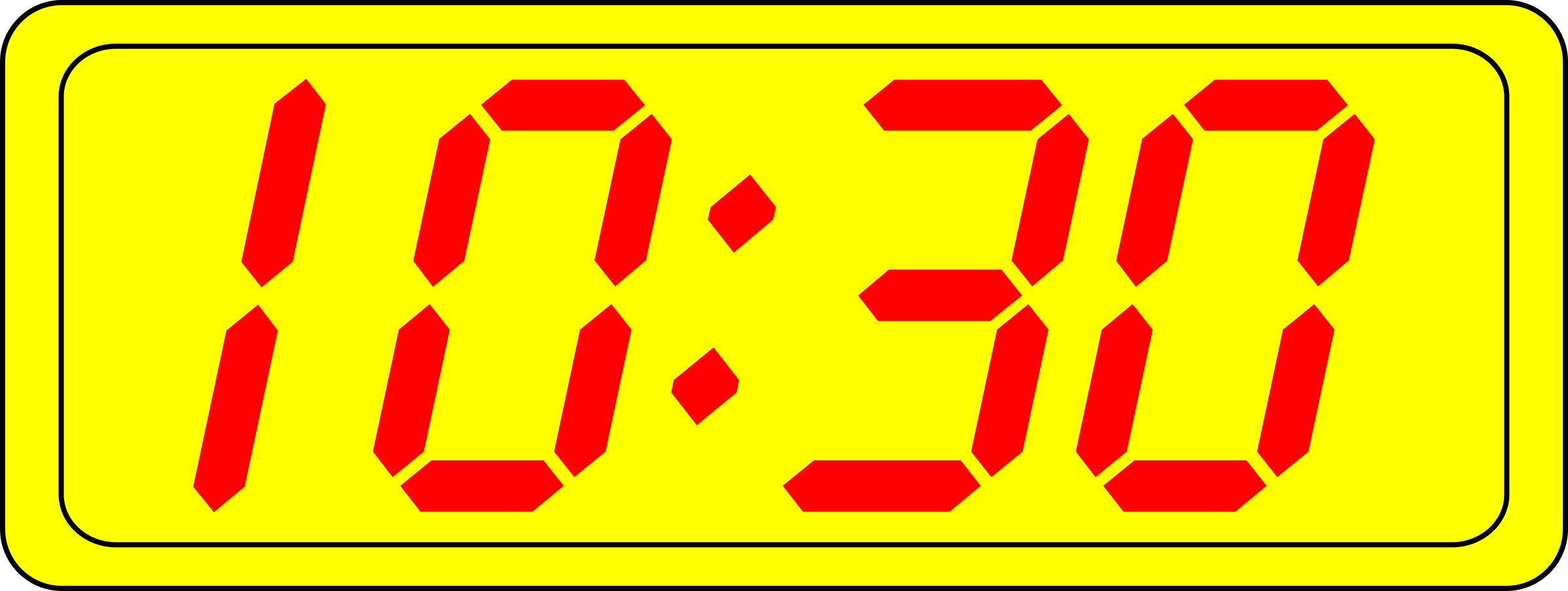 Digital Clock by manio1