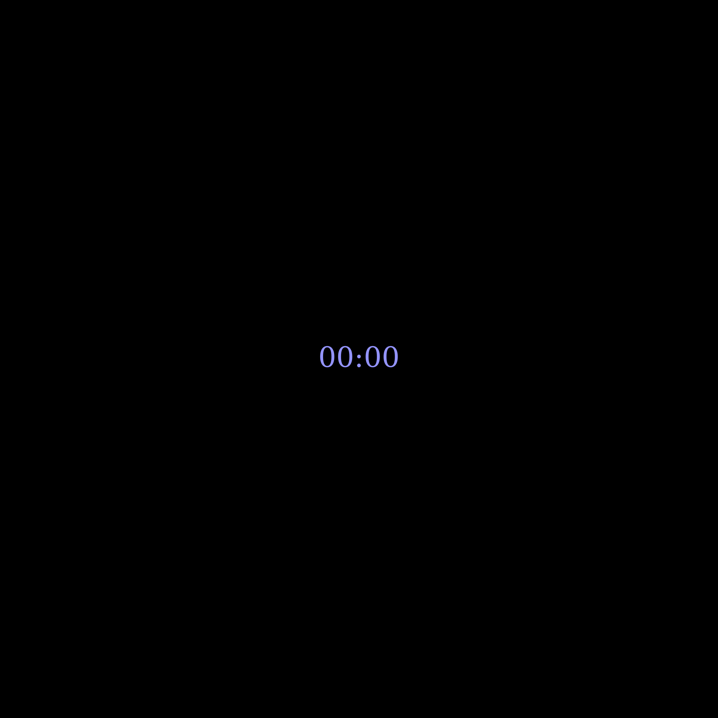 Upvote Clock with Black Background by gringer
