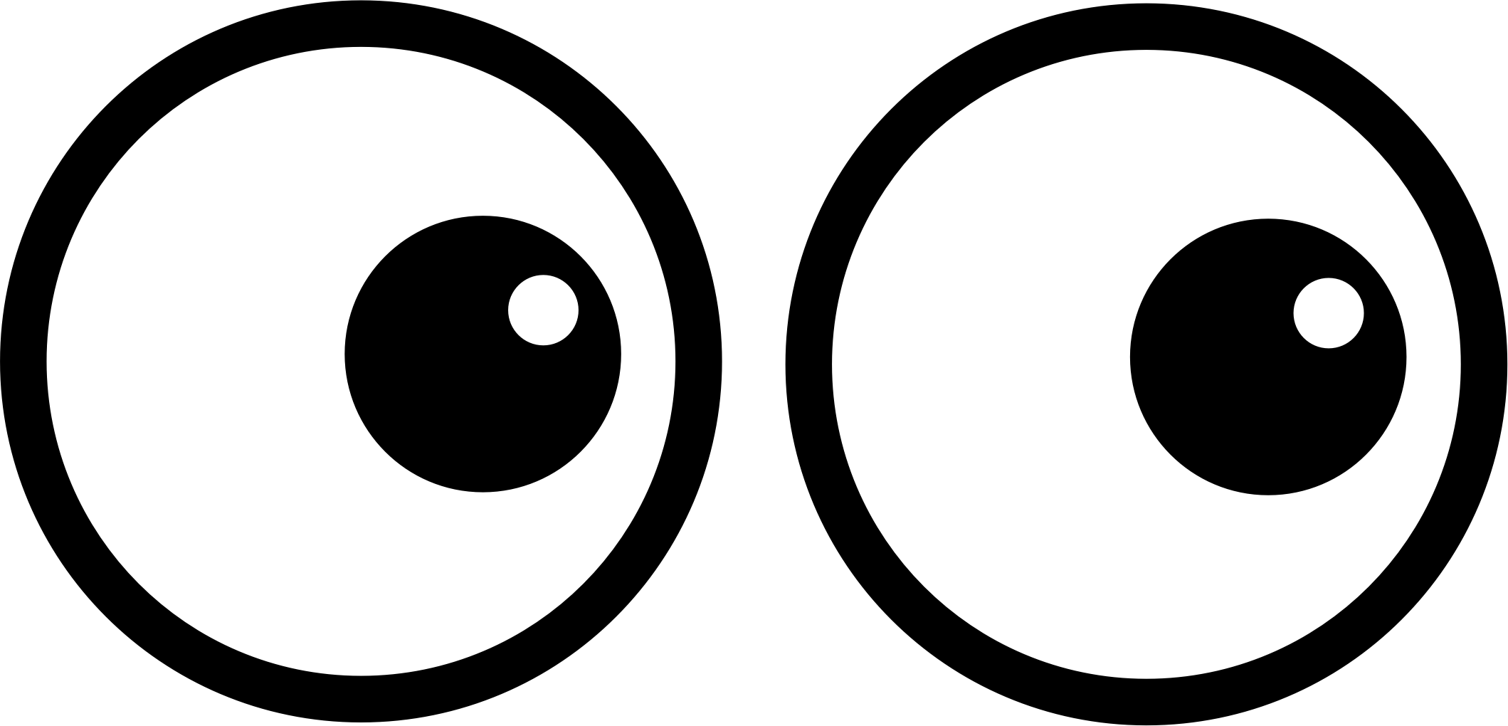 Clipart - Cartoon Eyes