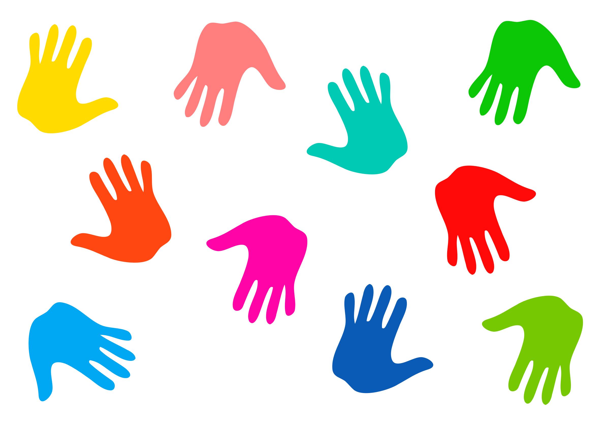 Clipart - Hand Prints