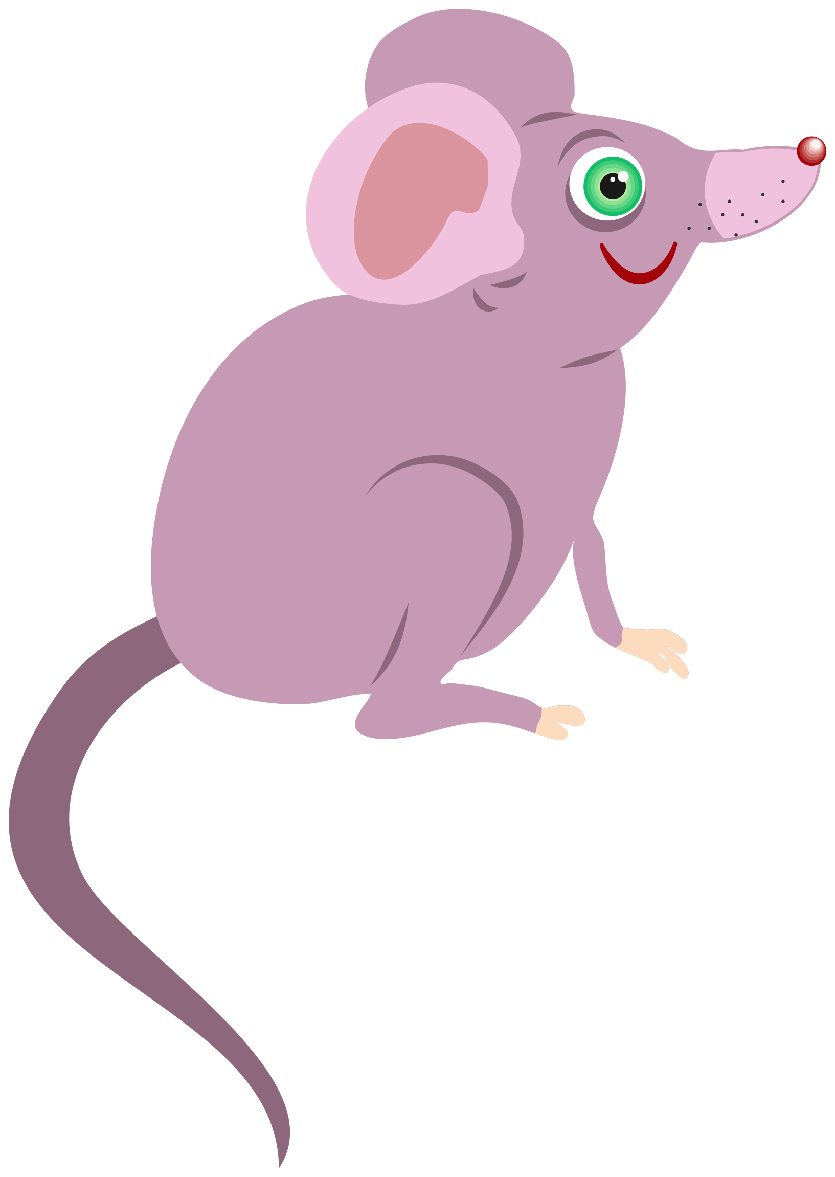Cartoon Mouse by Prawny