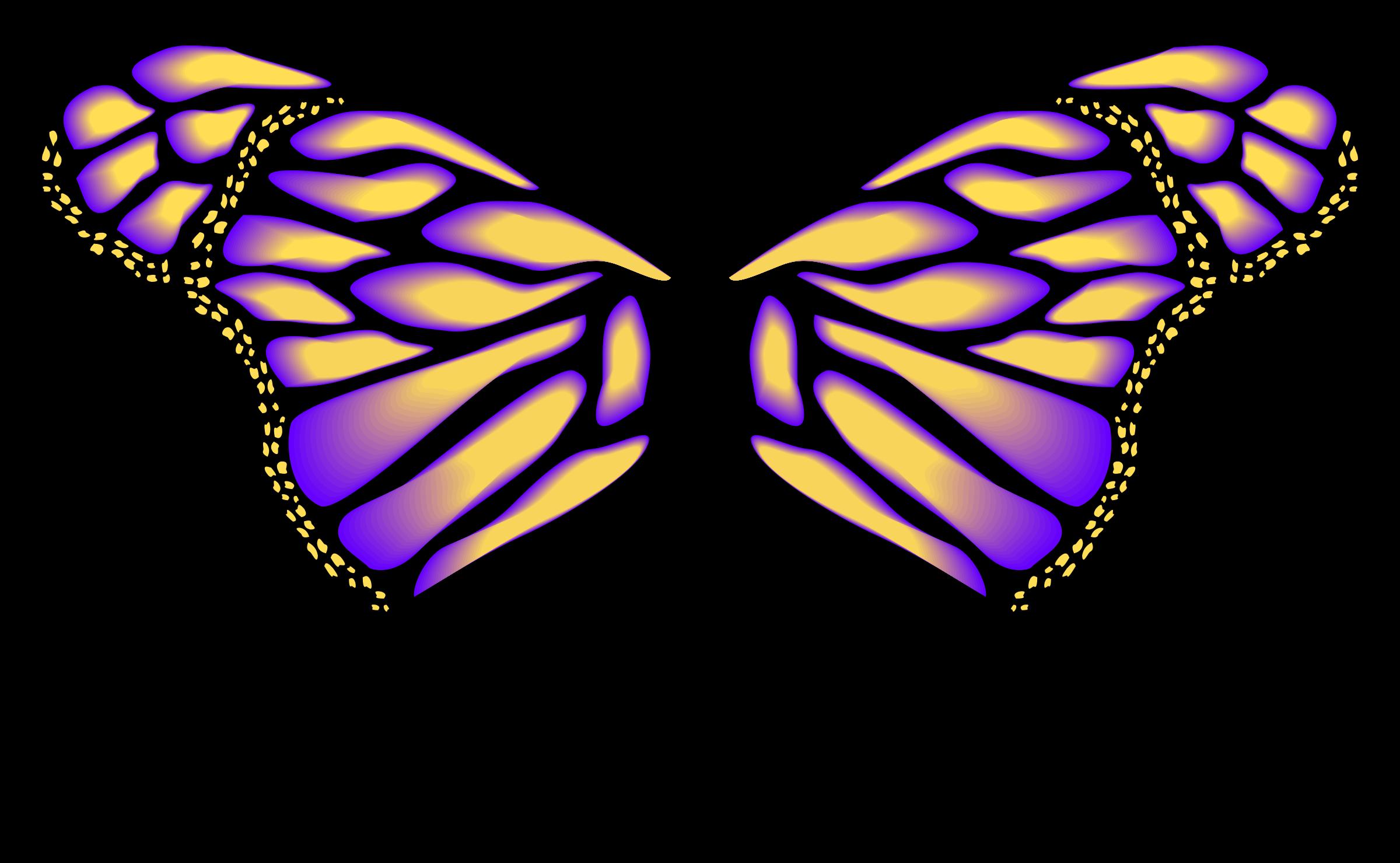 Clipart Asas De Borboleta Fada Vetor Butterfly Fairy Wings  -> Borboleta Vetor