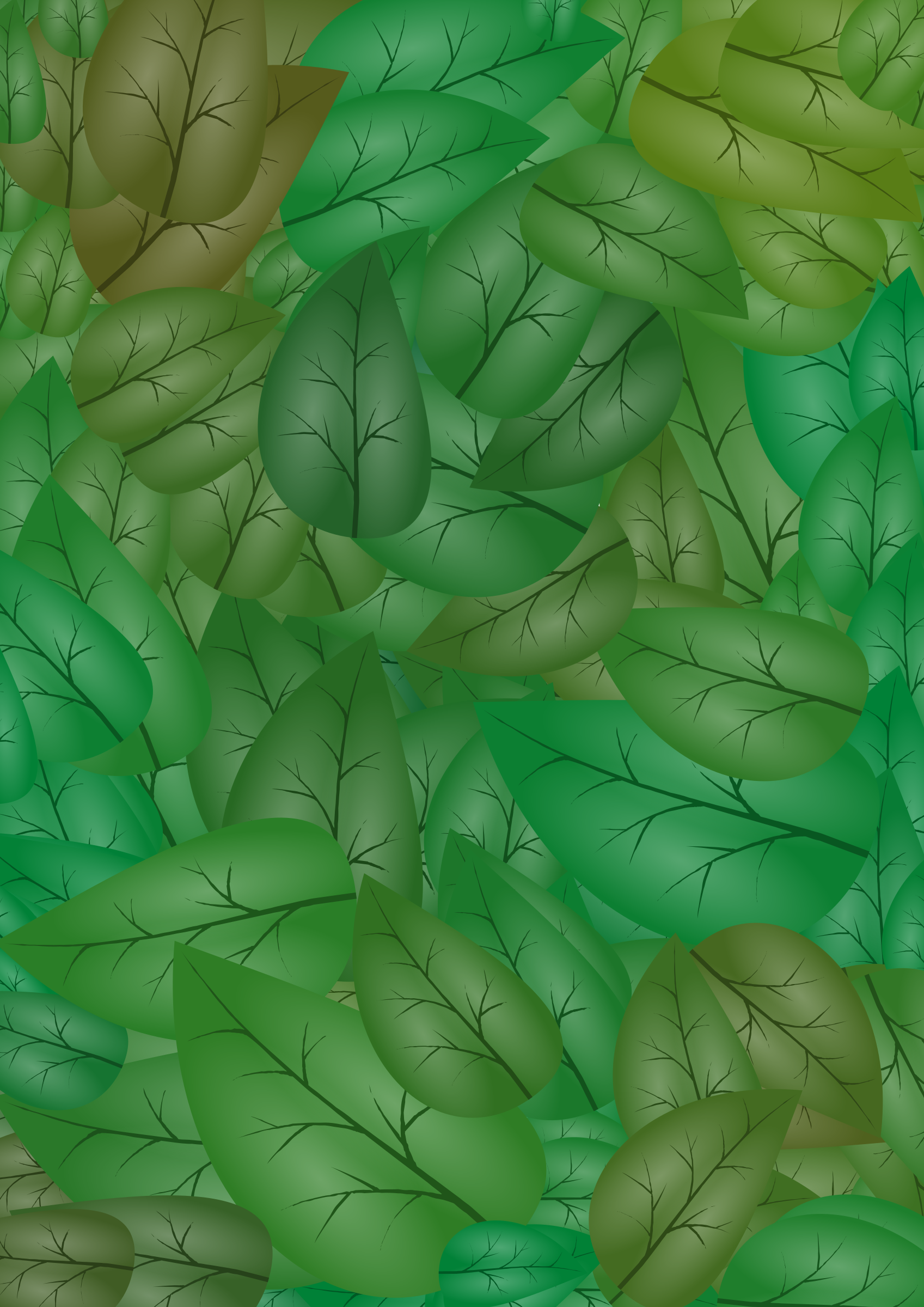 Leaves Background by gustavorezende