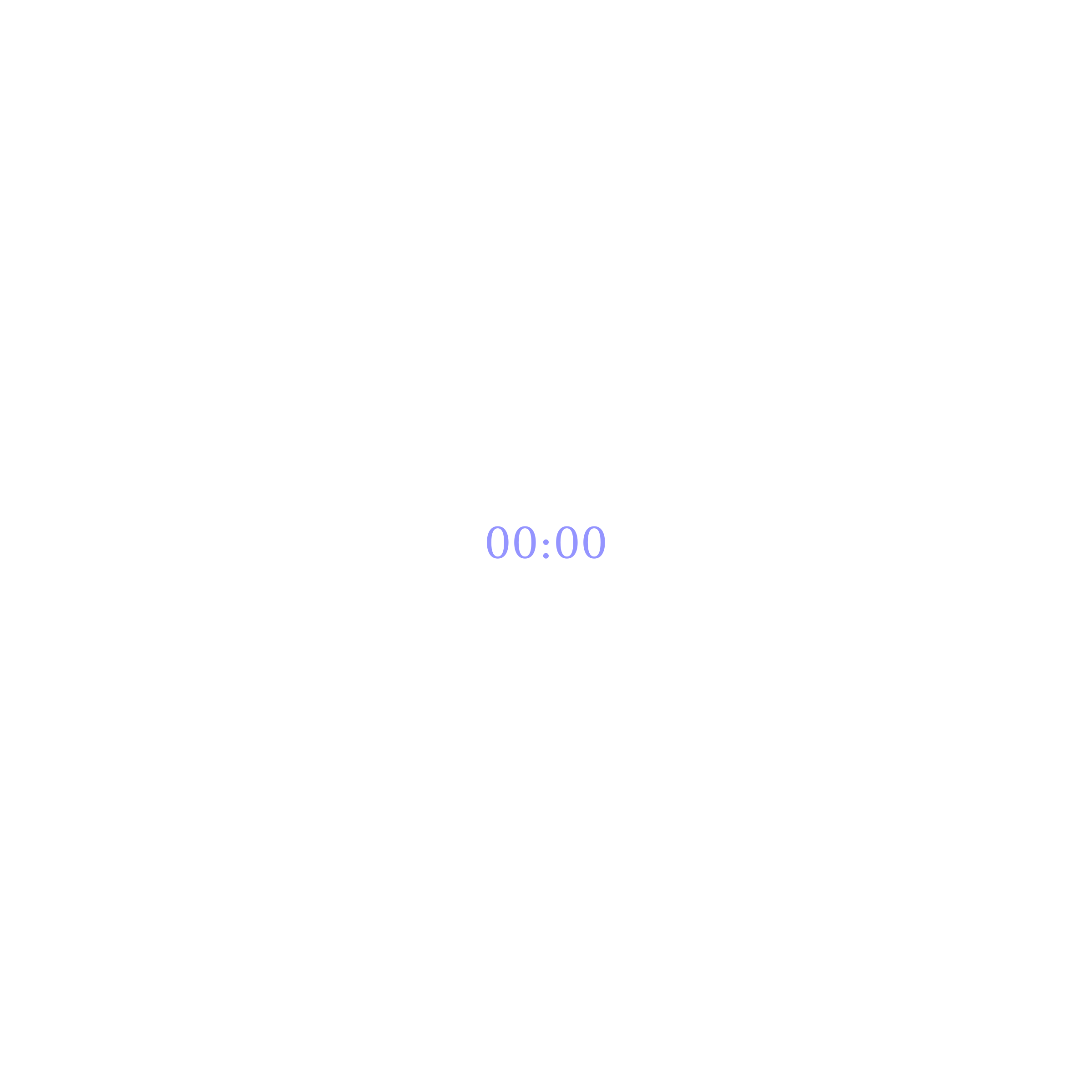 Smooth Upvote Clock with White Background by gringer