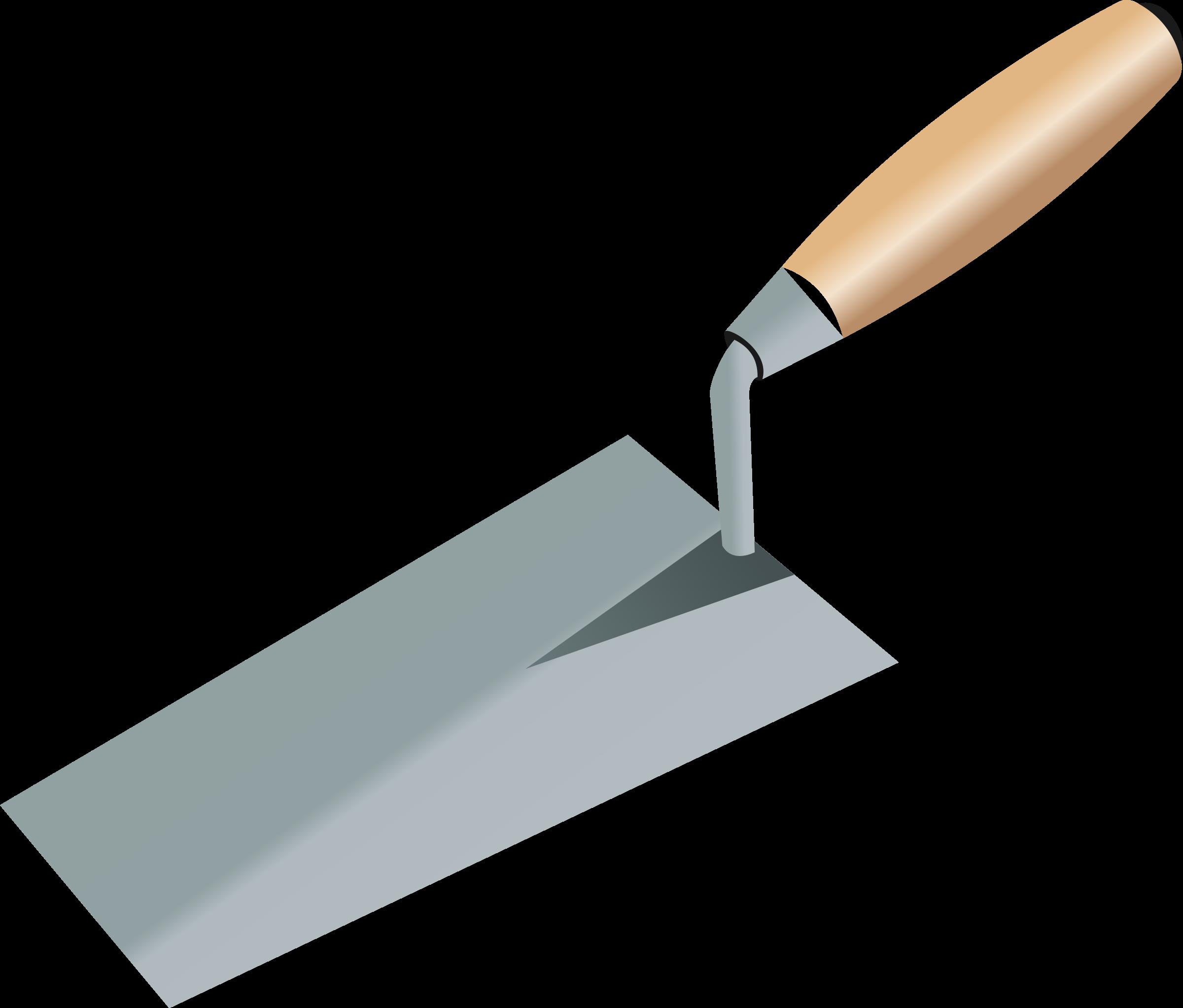 Masonry Trowel Logo : Clipart trowel truelle