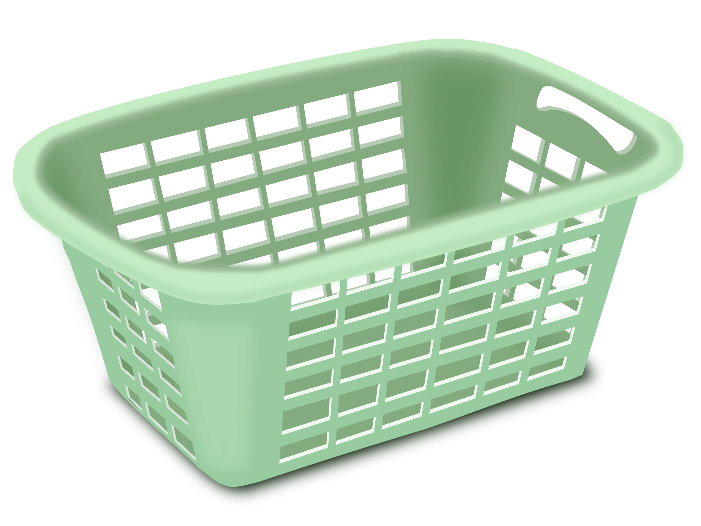 clipart plastic laundry basket. Black Bedroom Furniture Sets. Home Design Ideas