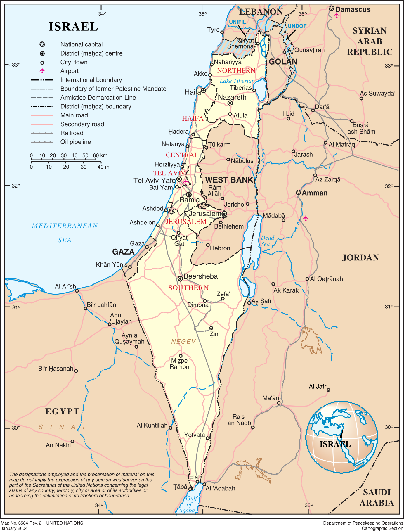 Israel and Disputed Territories by wanglizhong