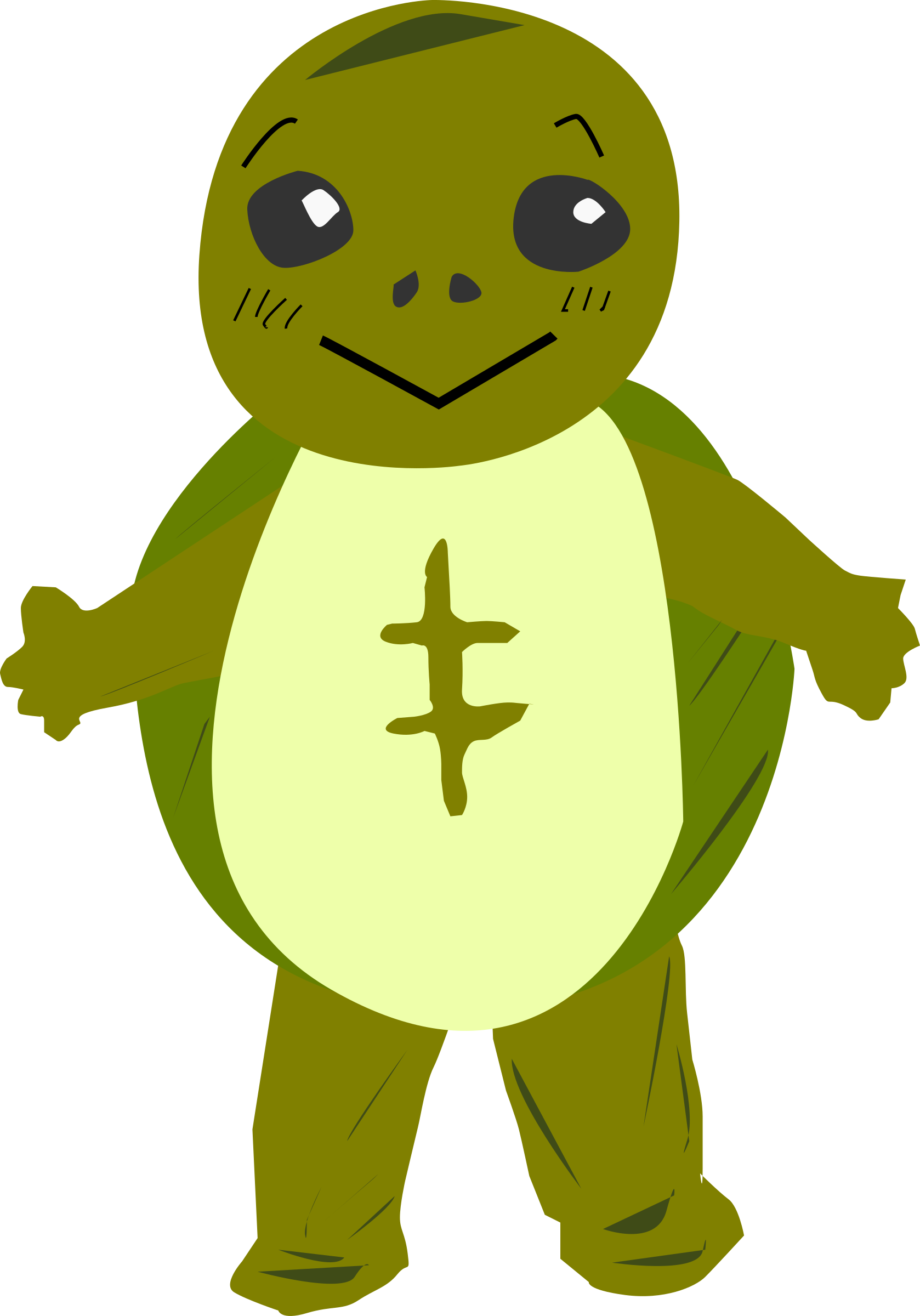 turtle character by shokunin
