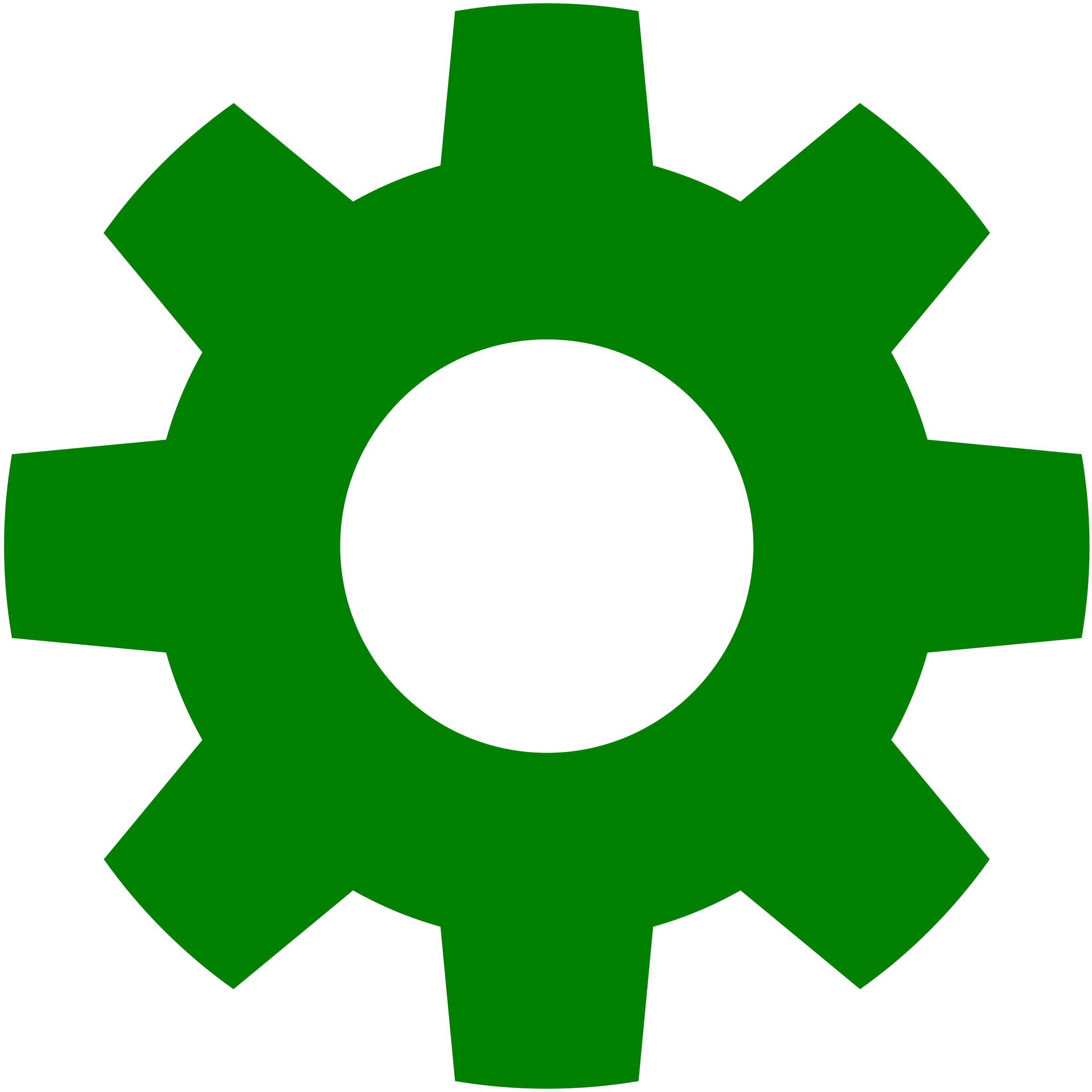Gear in green by aztlek