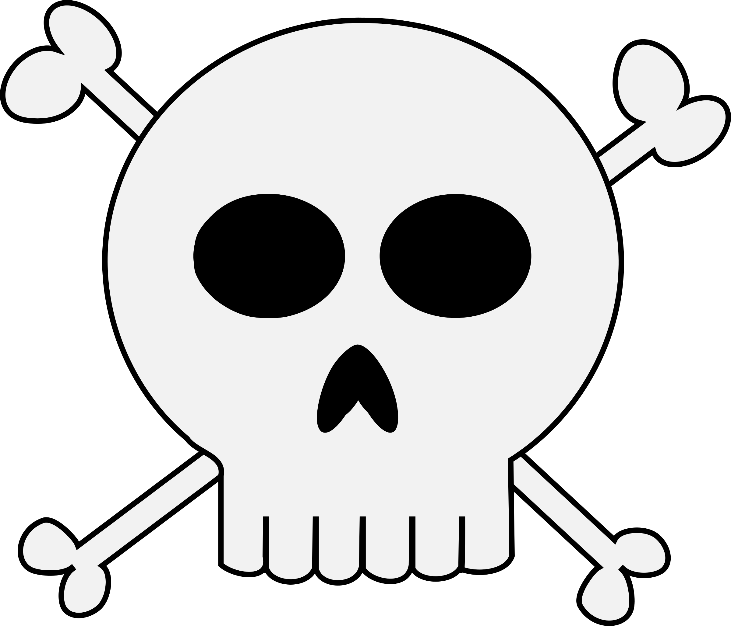 clipart punk skull crossbones rh openclipart org skull and crossbones clip art skull and crossbones clip art vector