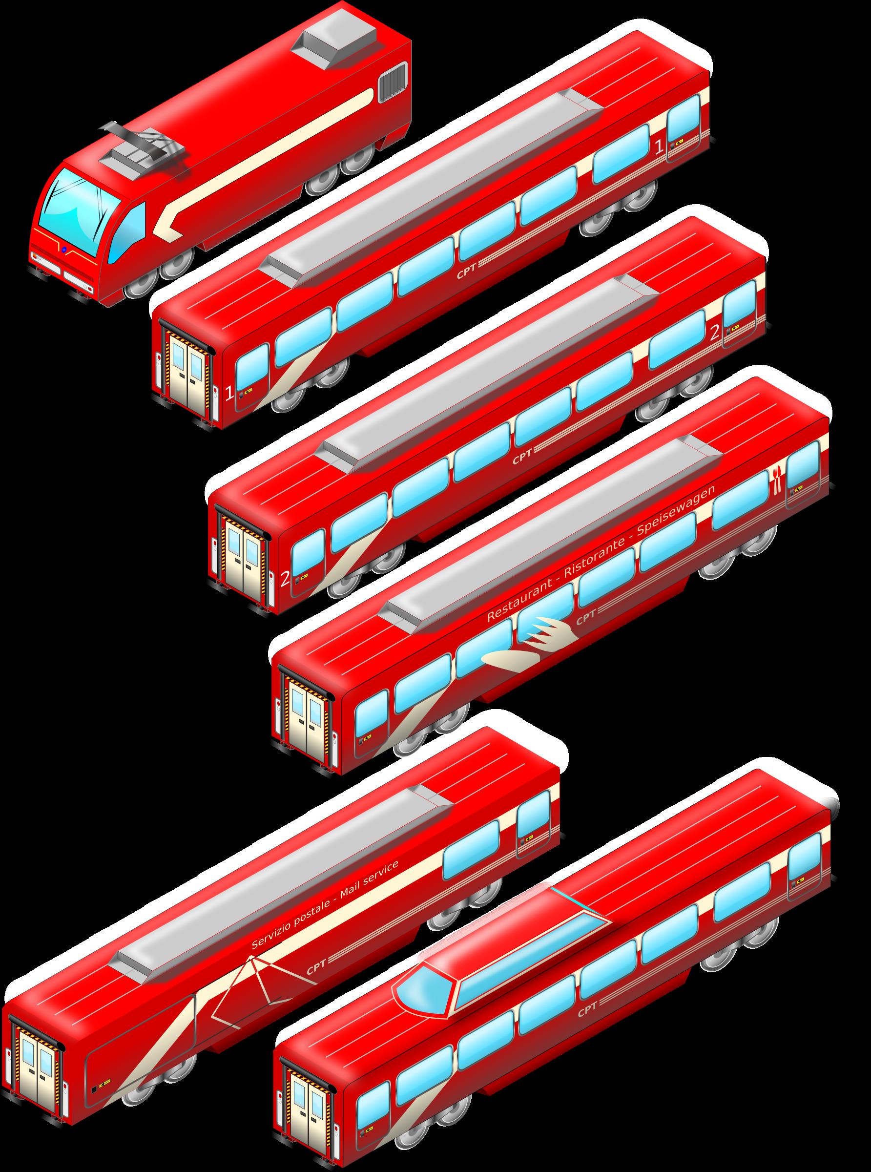 Intercity Rosso v.1.1 by zerocinquanta