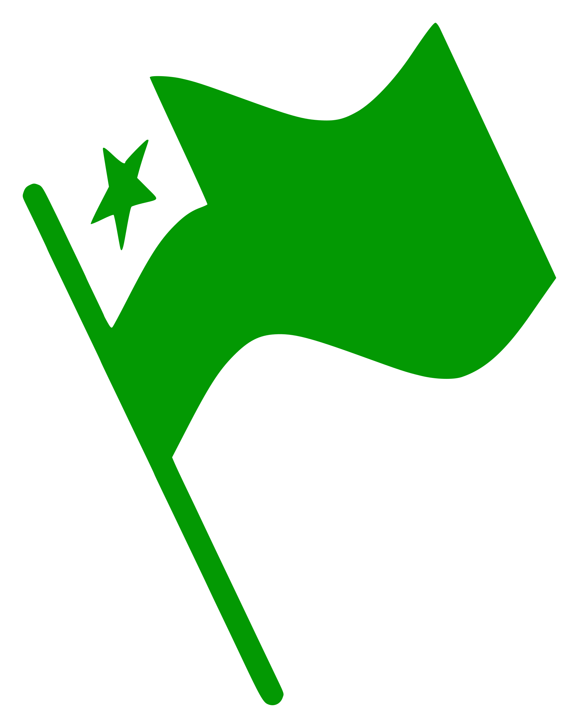 Esperanto Flag Waving by svk-ab