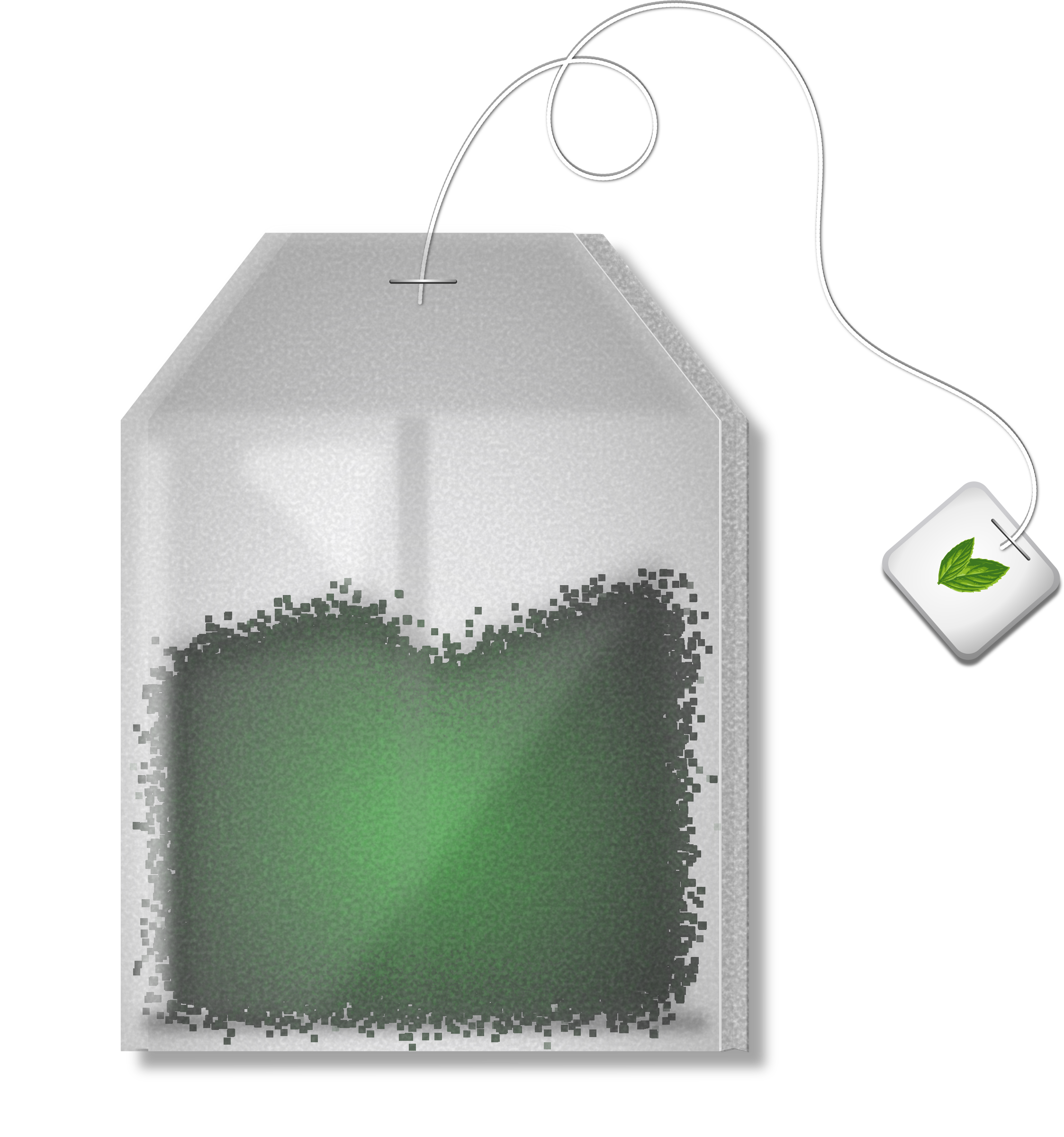 Mint Tea Bag by Merlin2525
