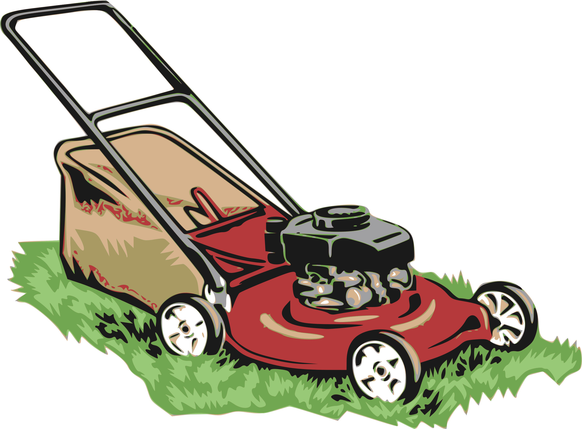 Red Lawnmower by j4p4n