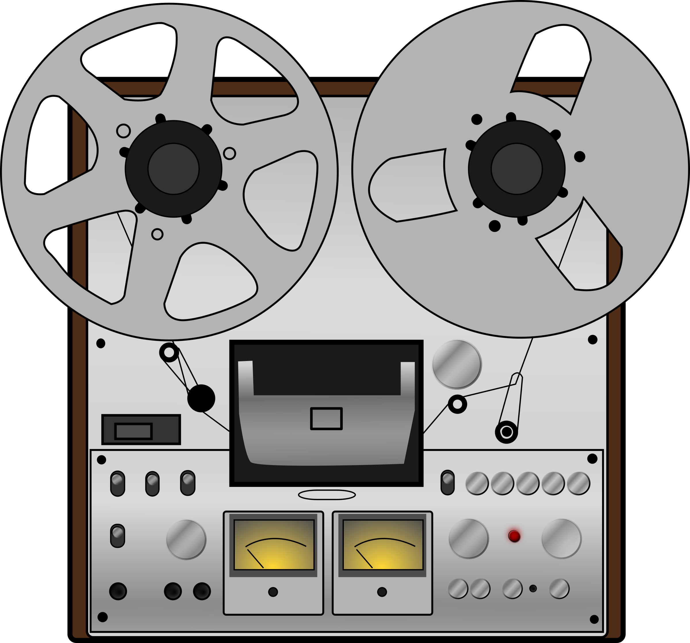 Reel to reel tape recorder by Upacesky