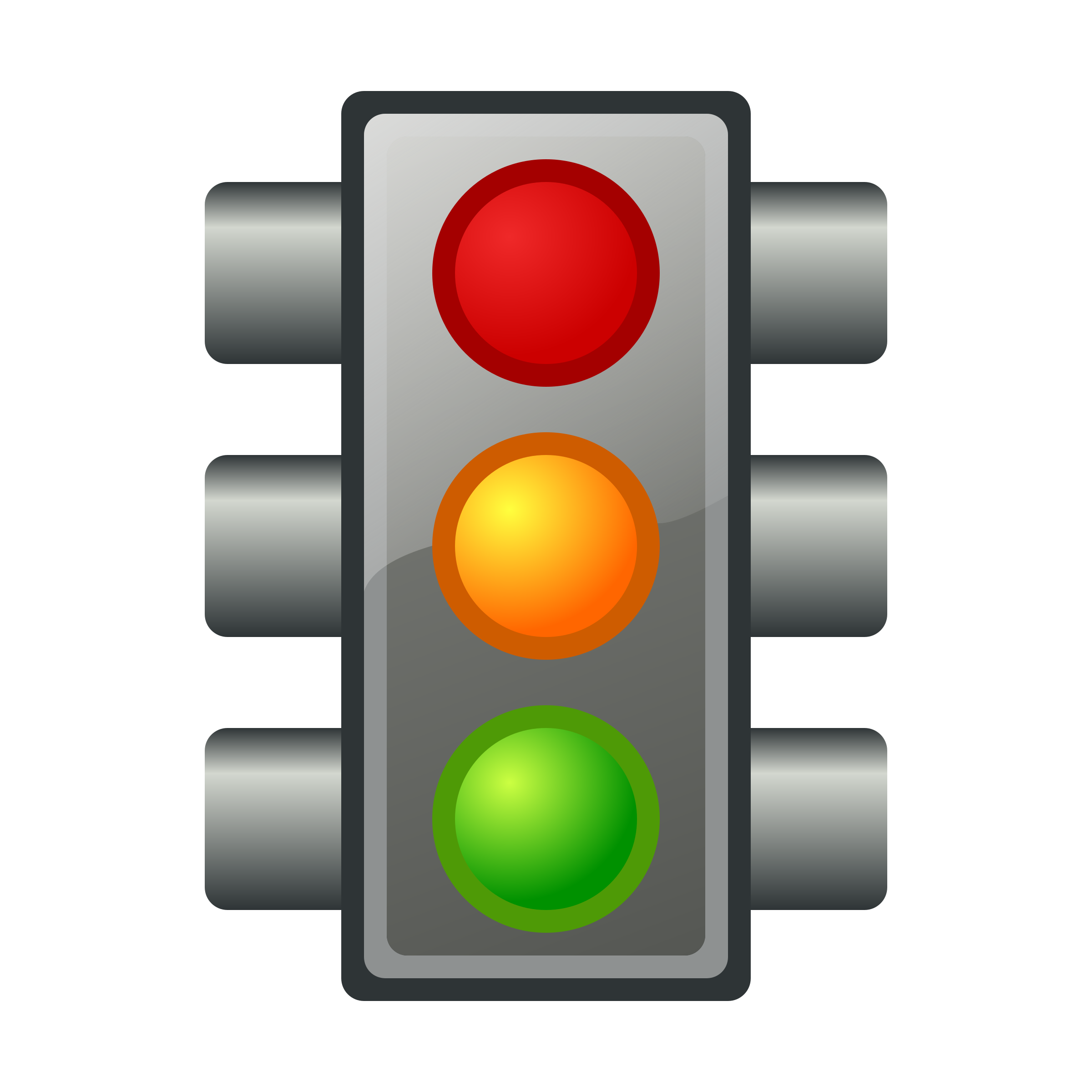 Traffic light icon by jhnri4