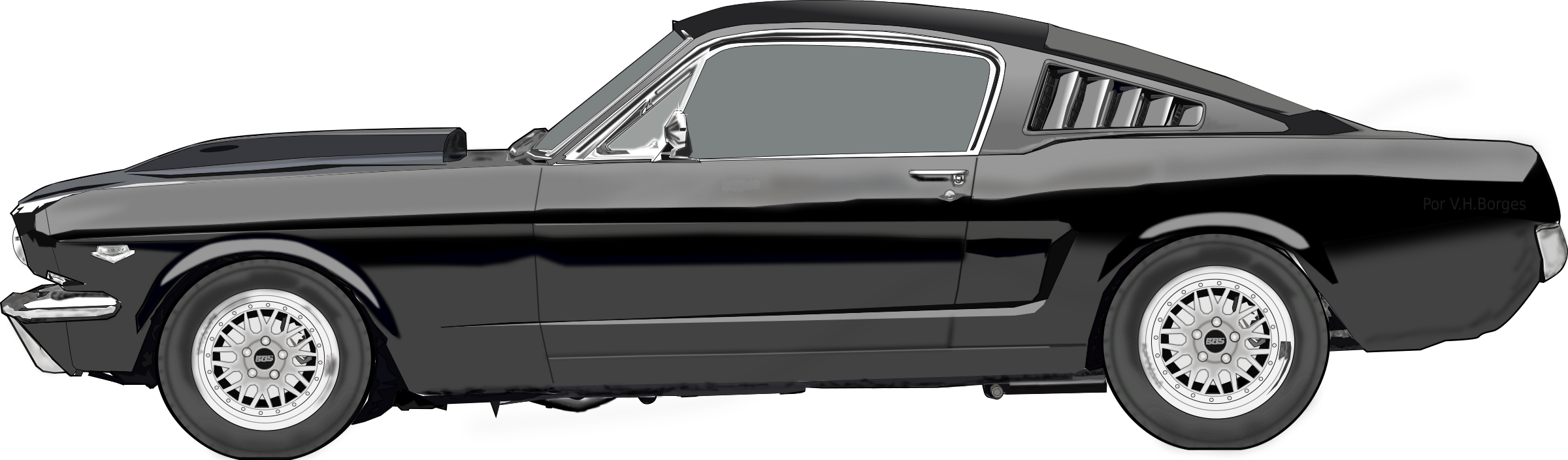 Ford Mustang by victorborges