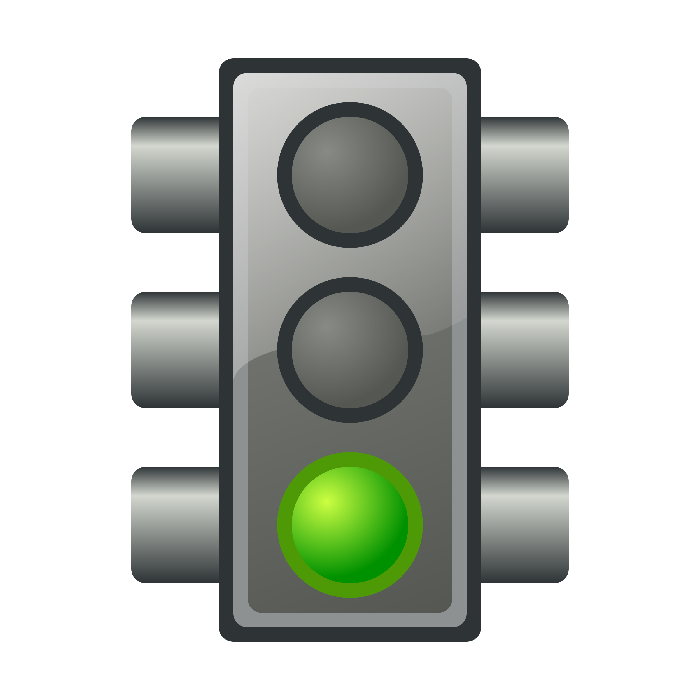 Green traffic light by jhnri4
