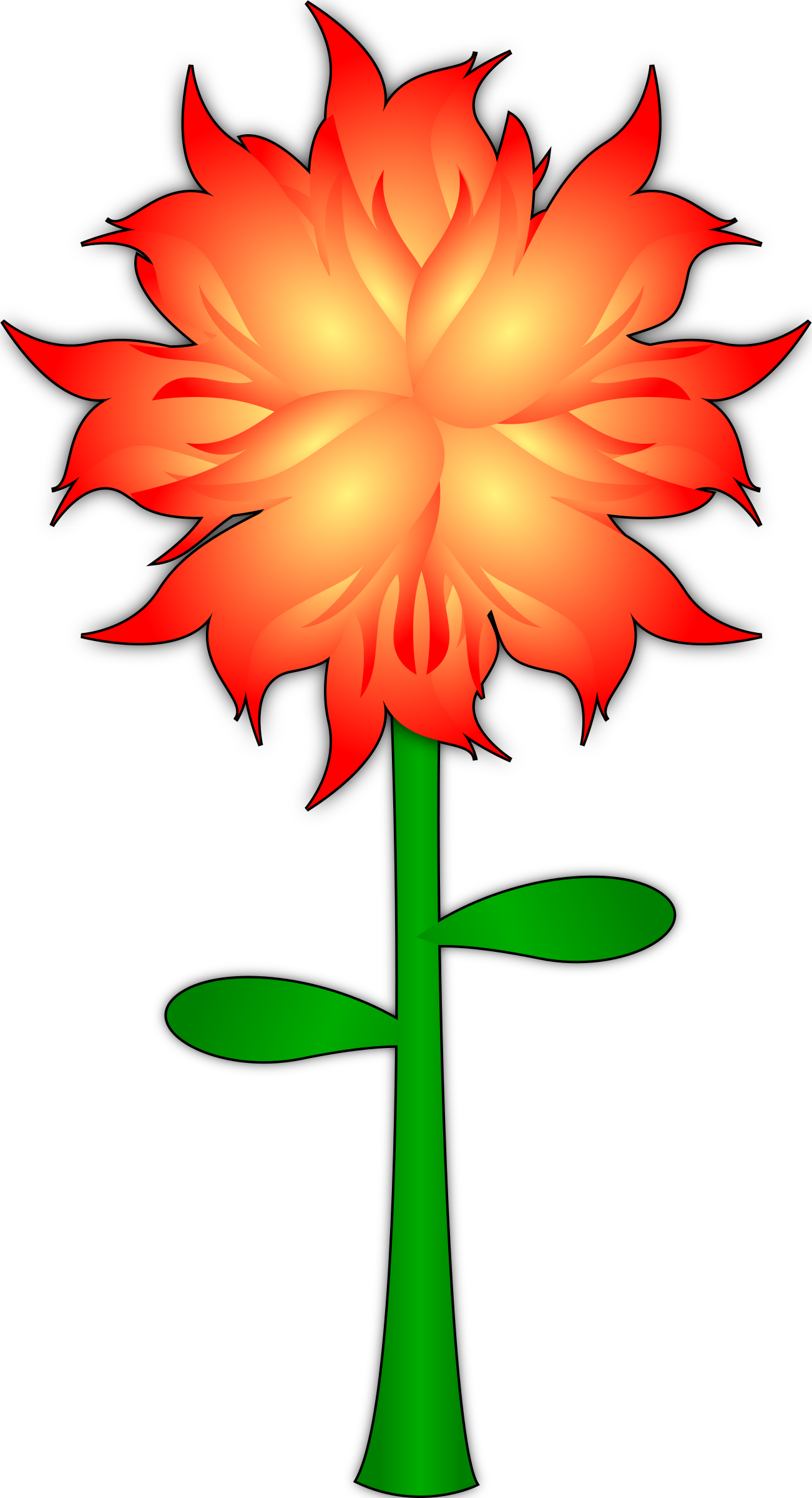 Fire Flower by gigatwo